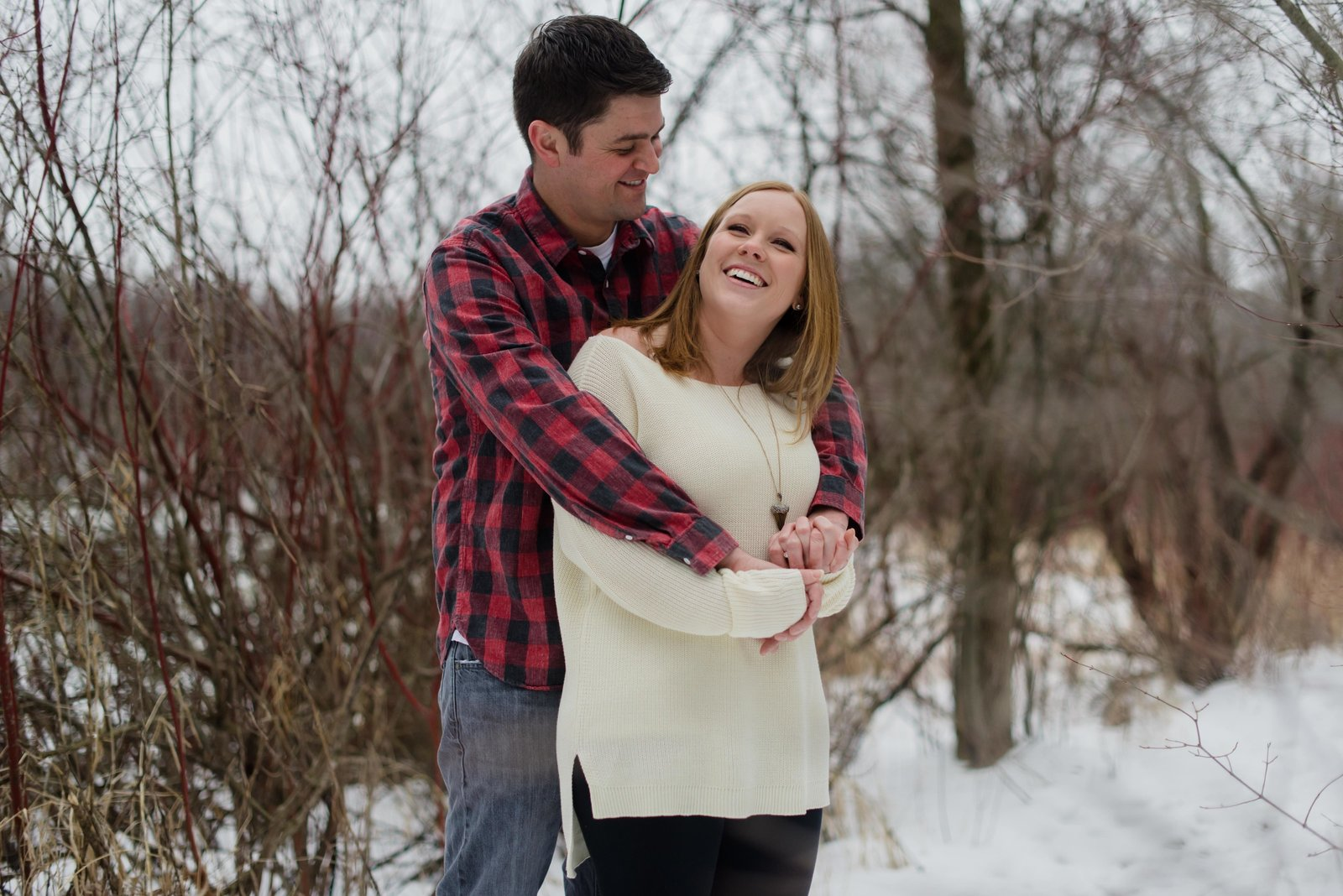 Minnesota Winter Engagement Photos 0994