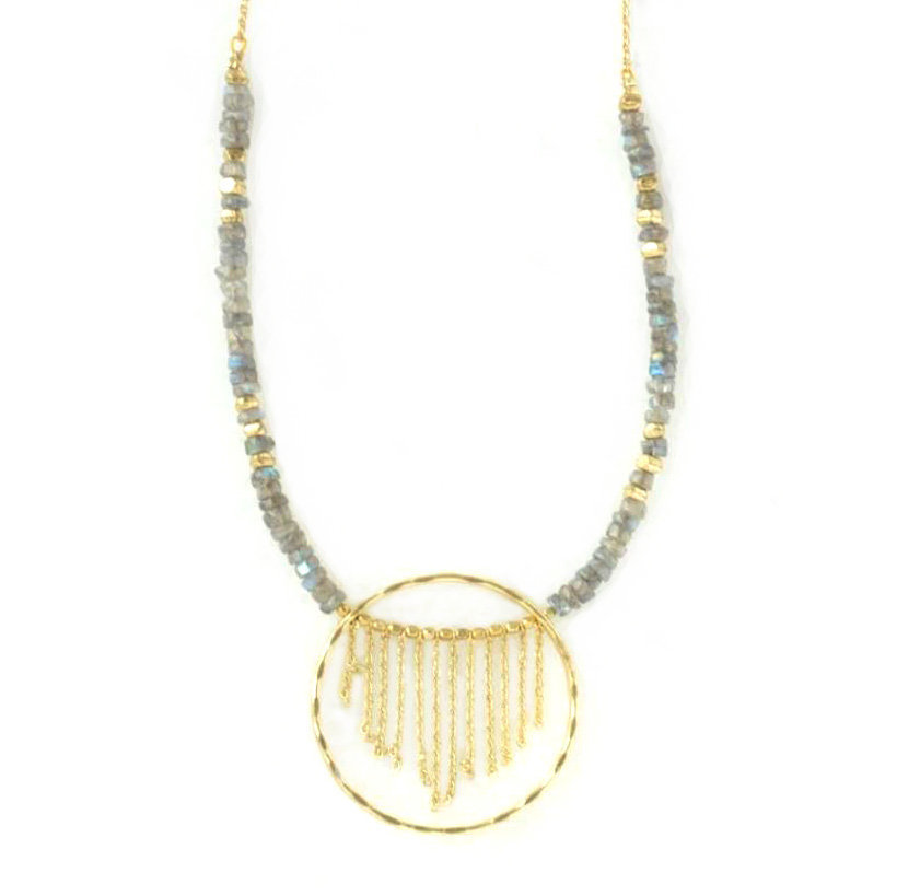Fair Anita Gold Mist Necklace