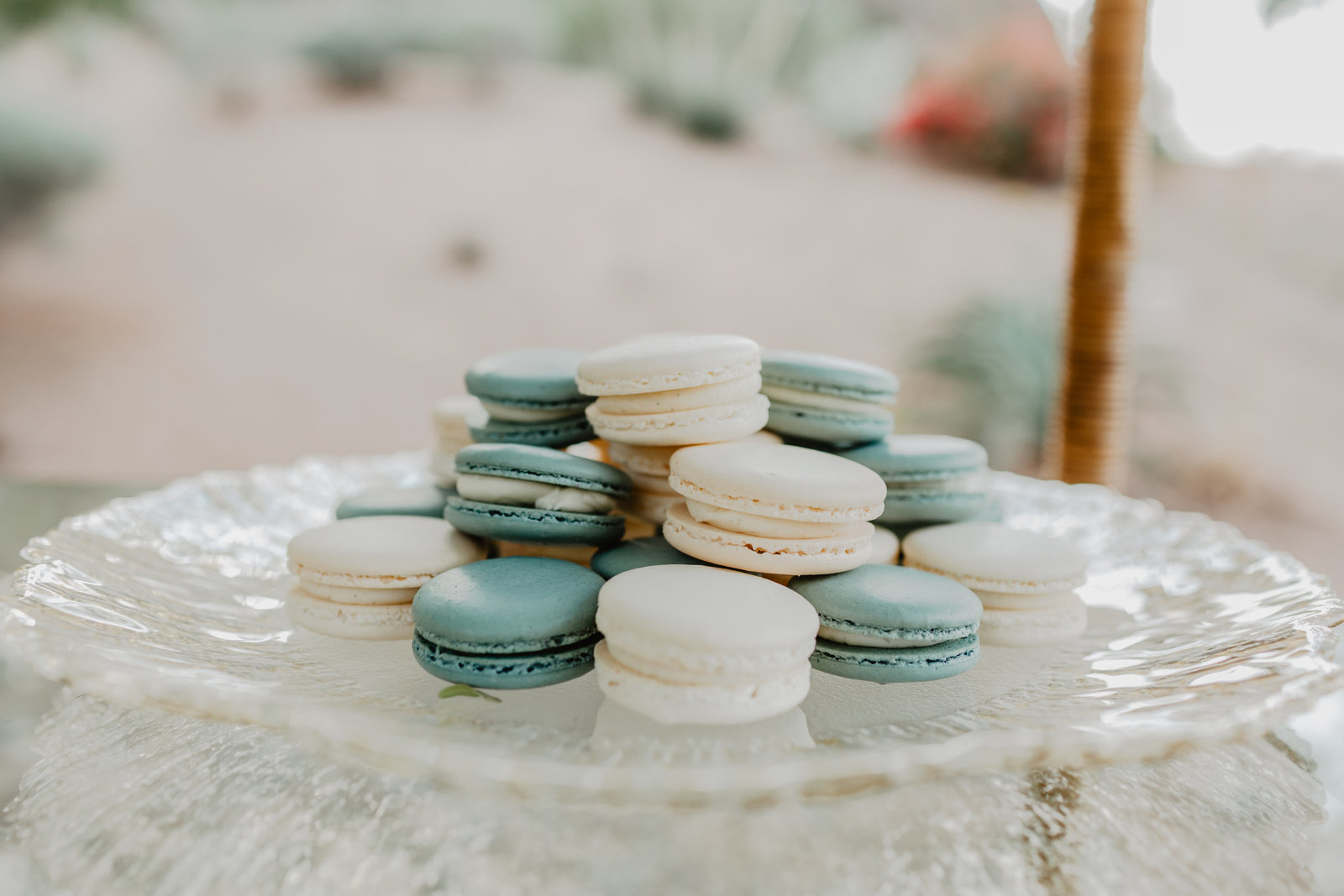 Macaroons make a perfect wedding cake alternative.