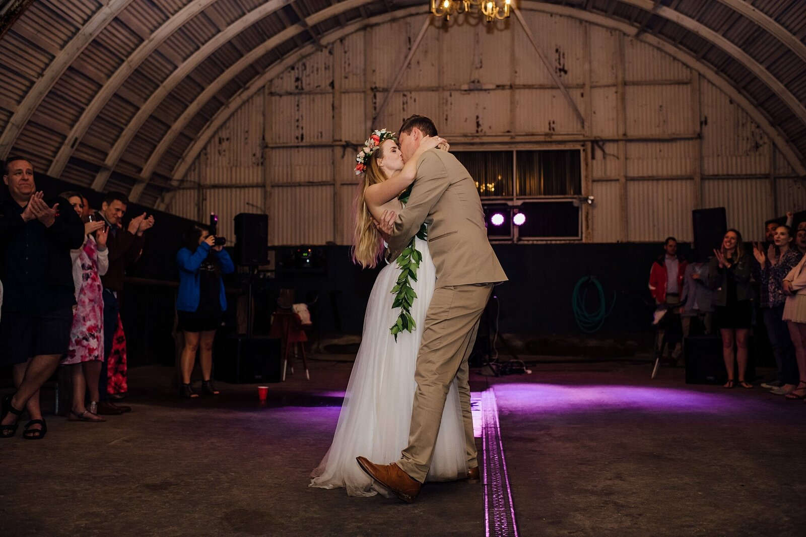 the first dance at kahua ranch
