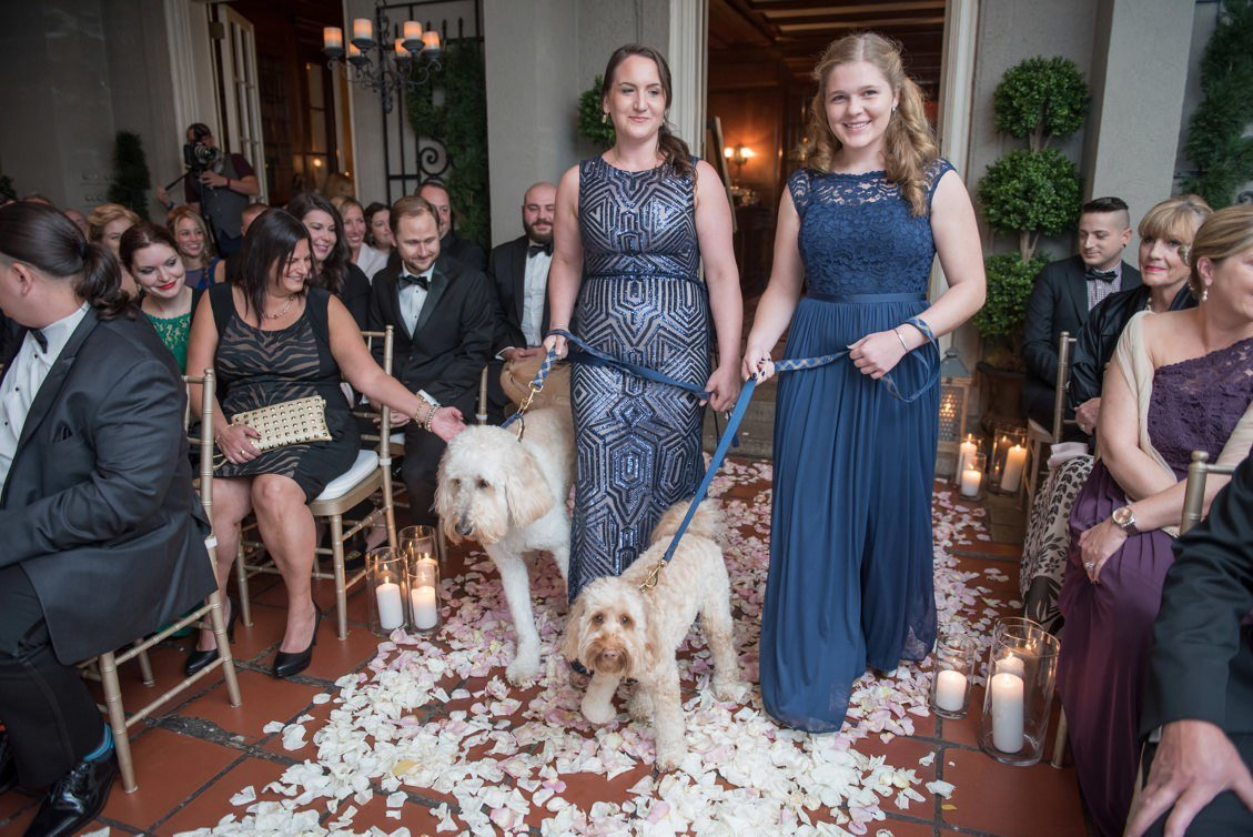 Same sex wedding at Lord Thompson Manor in Thompson, CT