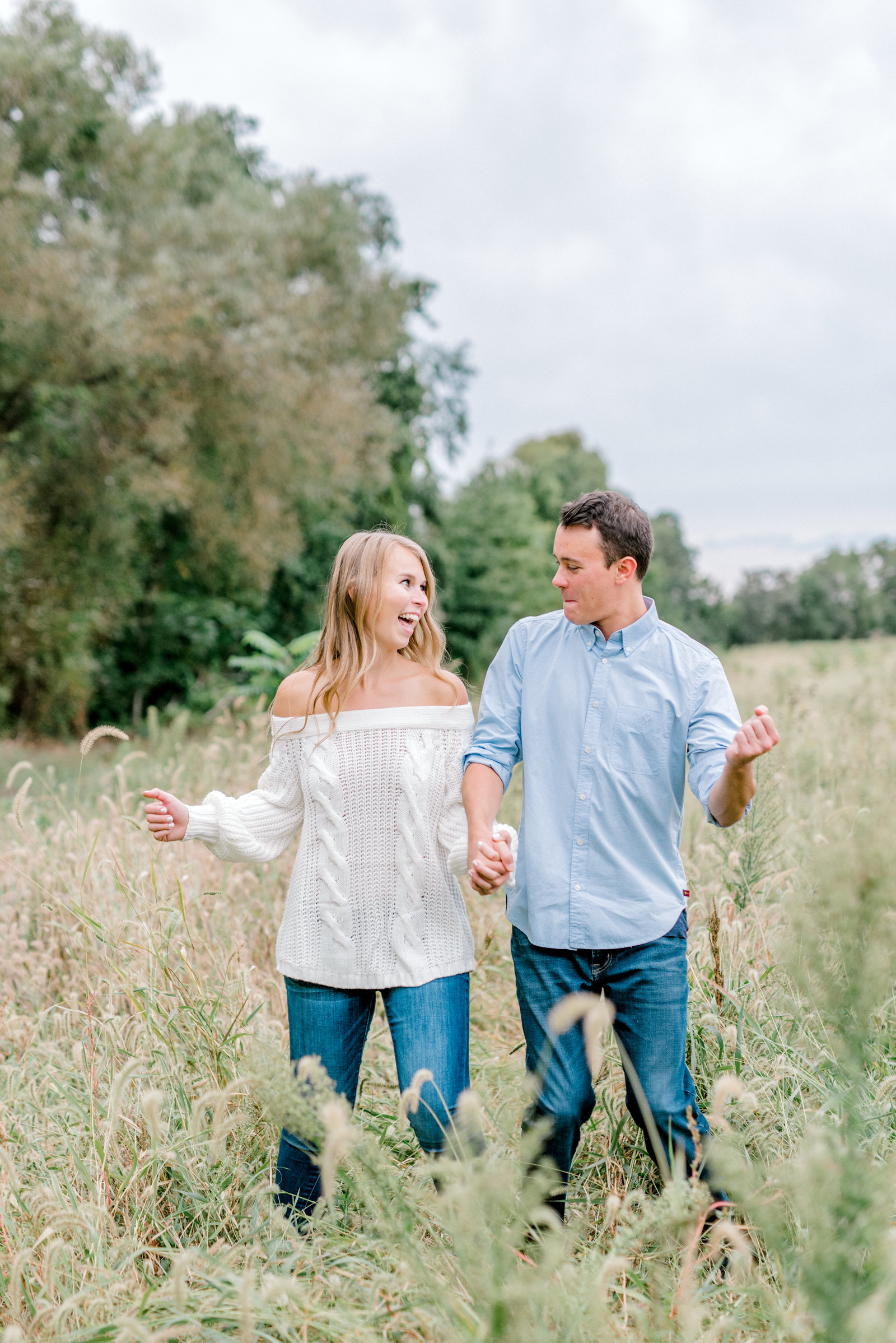 Quincy Cellars Engagement Session