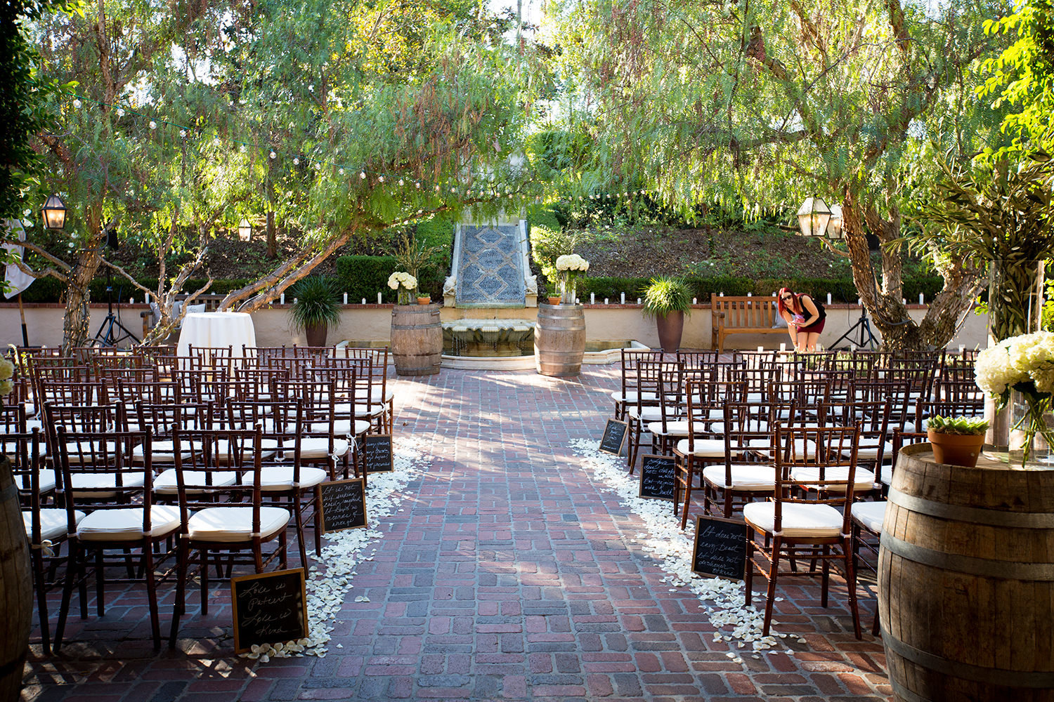 Rancho Bernardo Inn Wedding Ceremony