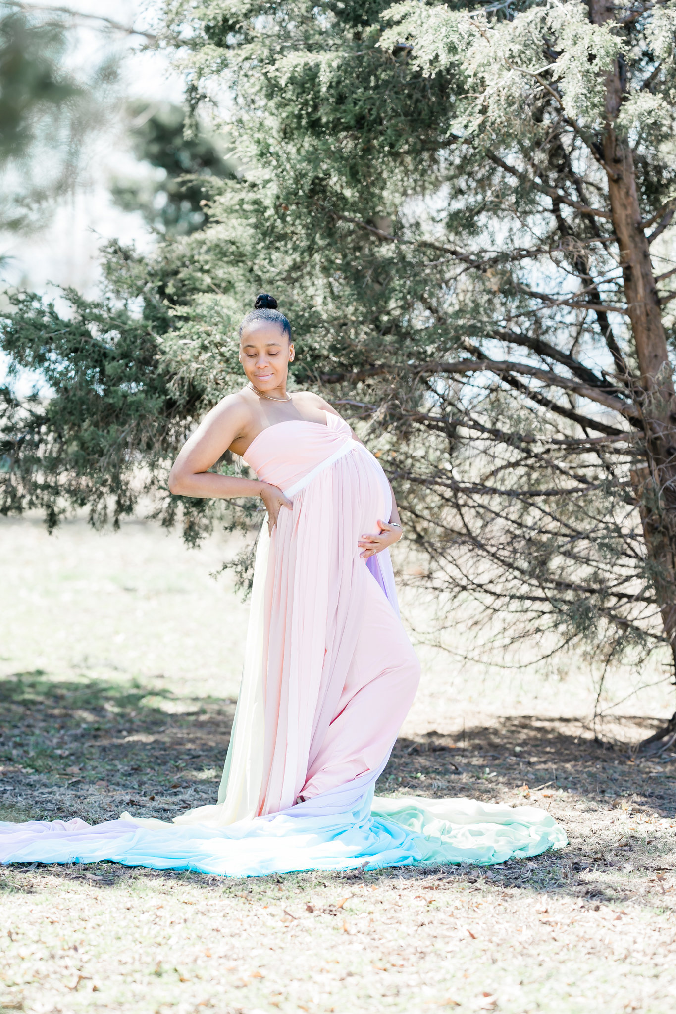 Dreamcatcher Rose Studios - maternity - brooklyn ny - pregnant at the park