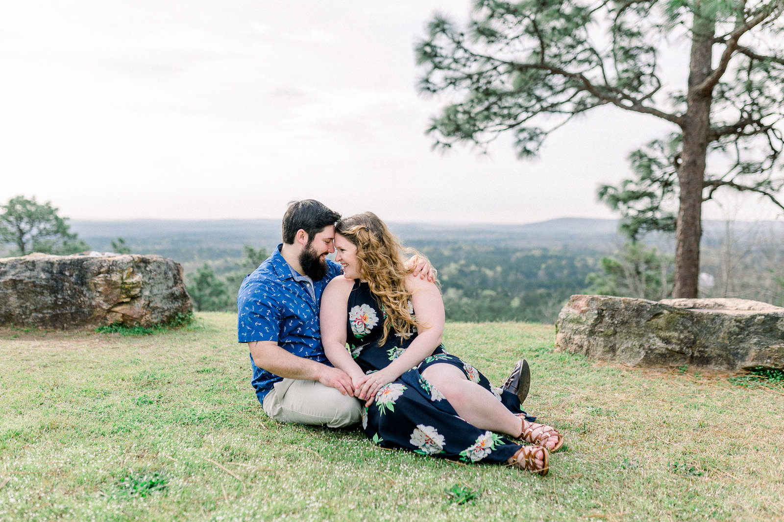 Pine Mountain Engagement Session Georgia Adventure-13