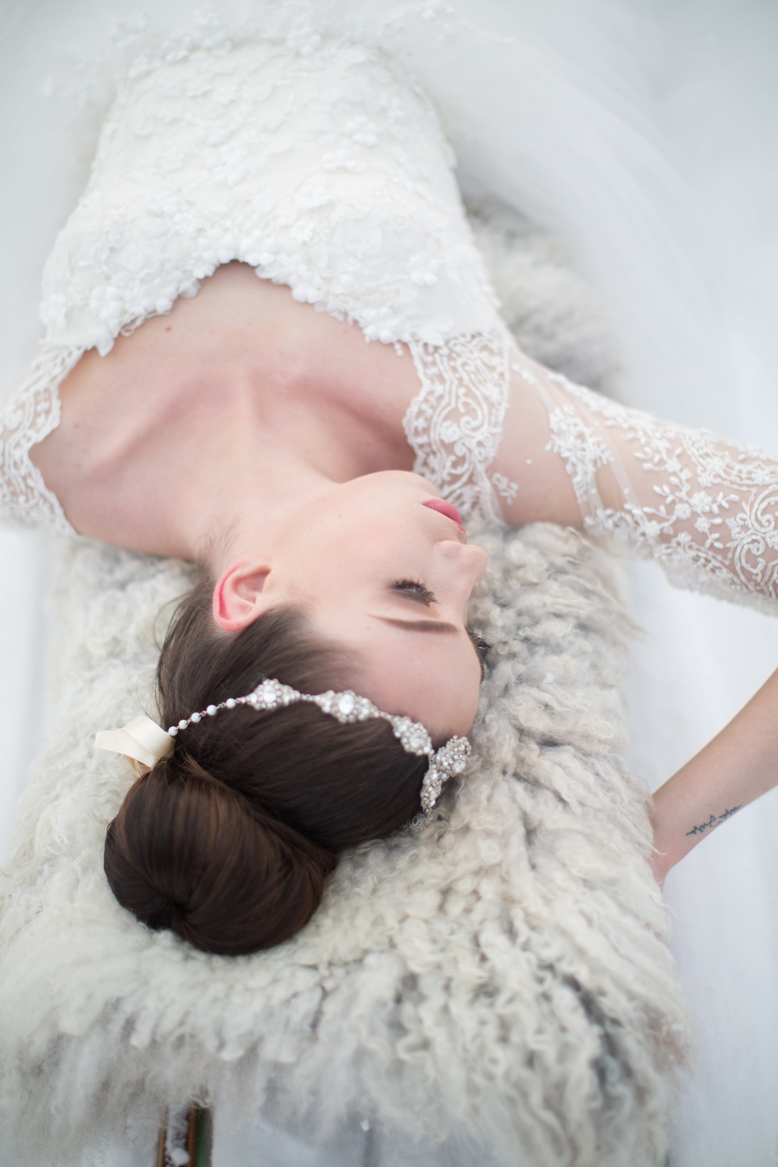 Hera-ivory-beaded-lace-tulle-snow-queen-wedding-dress-JoanneFlemingDesign-MonaMoeMachavaPhoto (9)