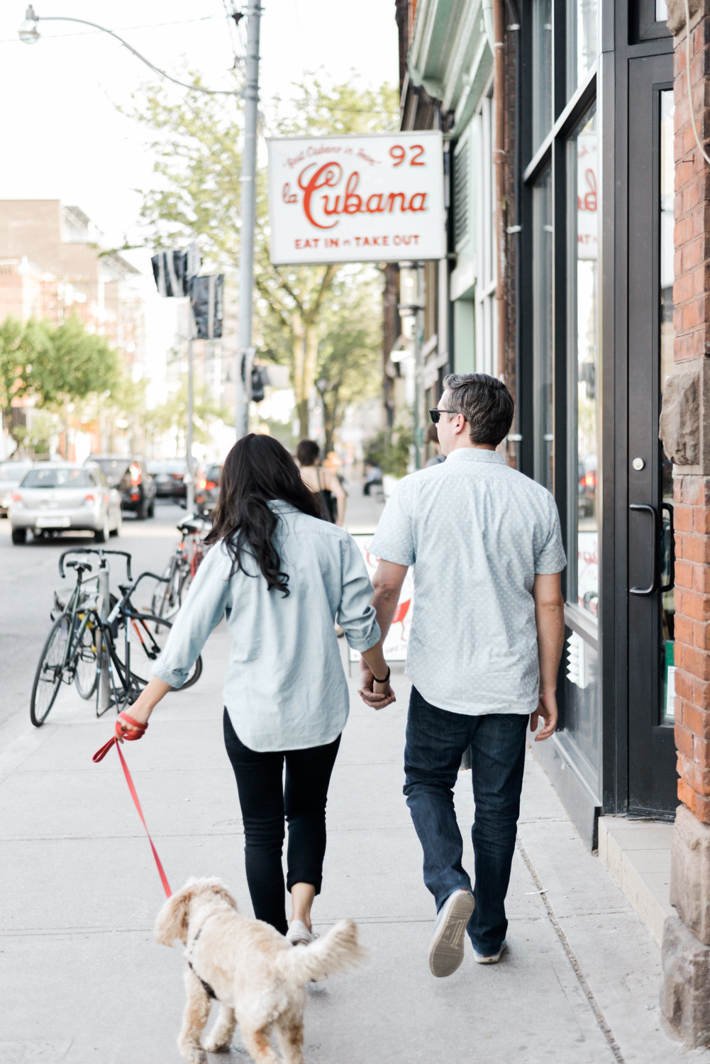 Ossington engagement shoot