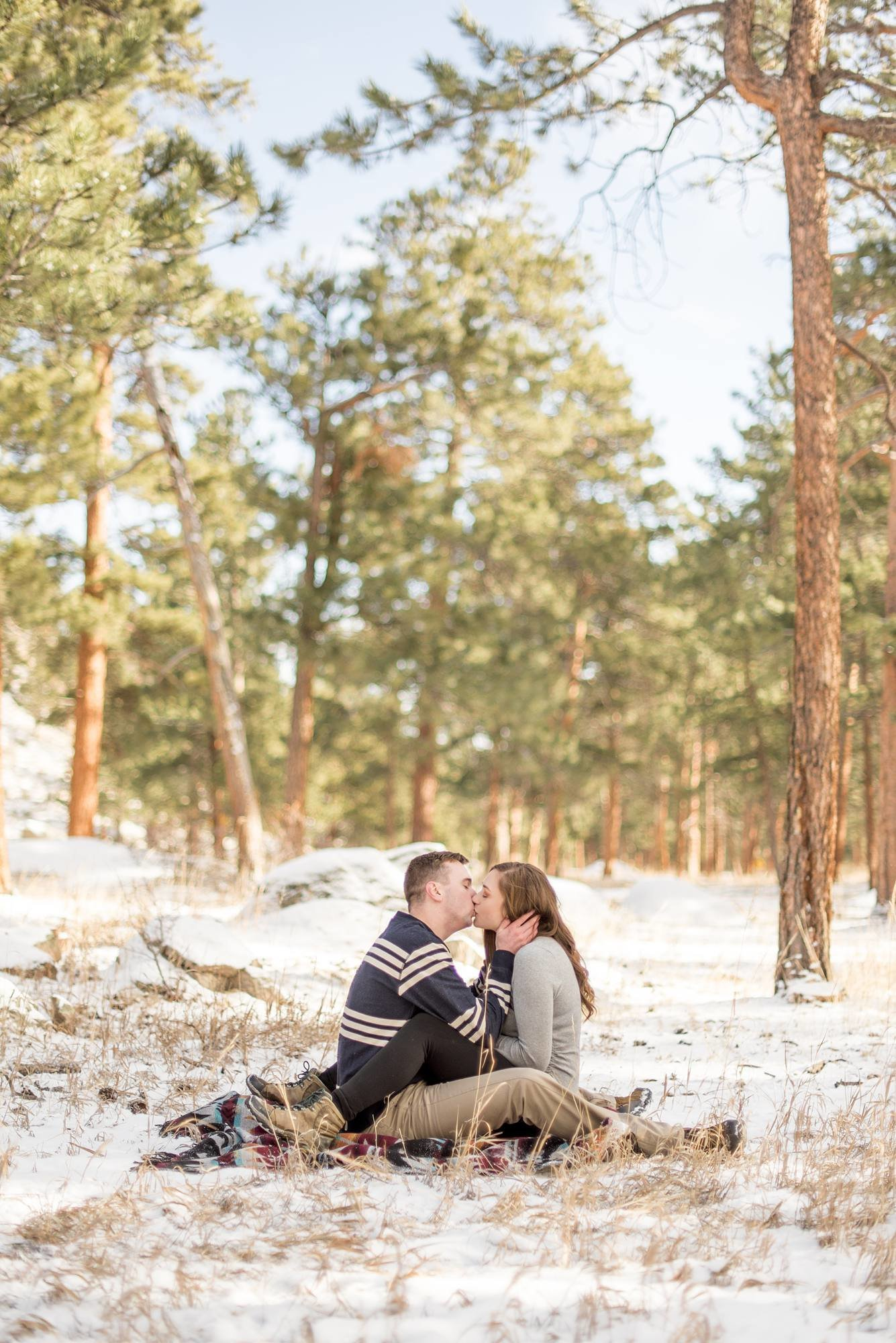 RMNP engagement portrait photographer