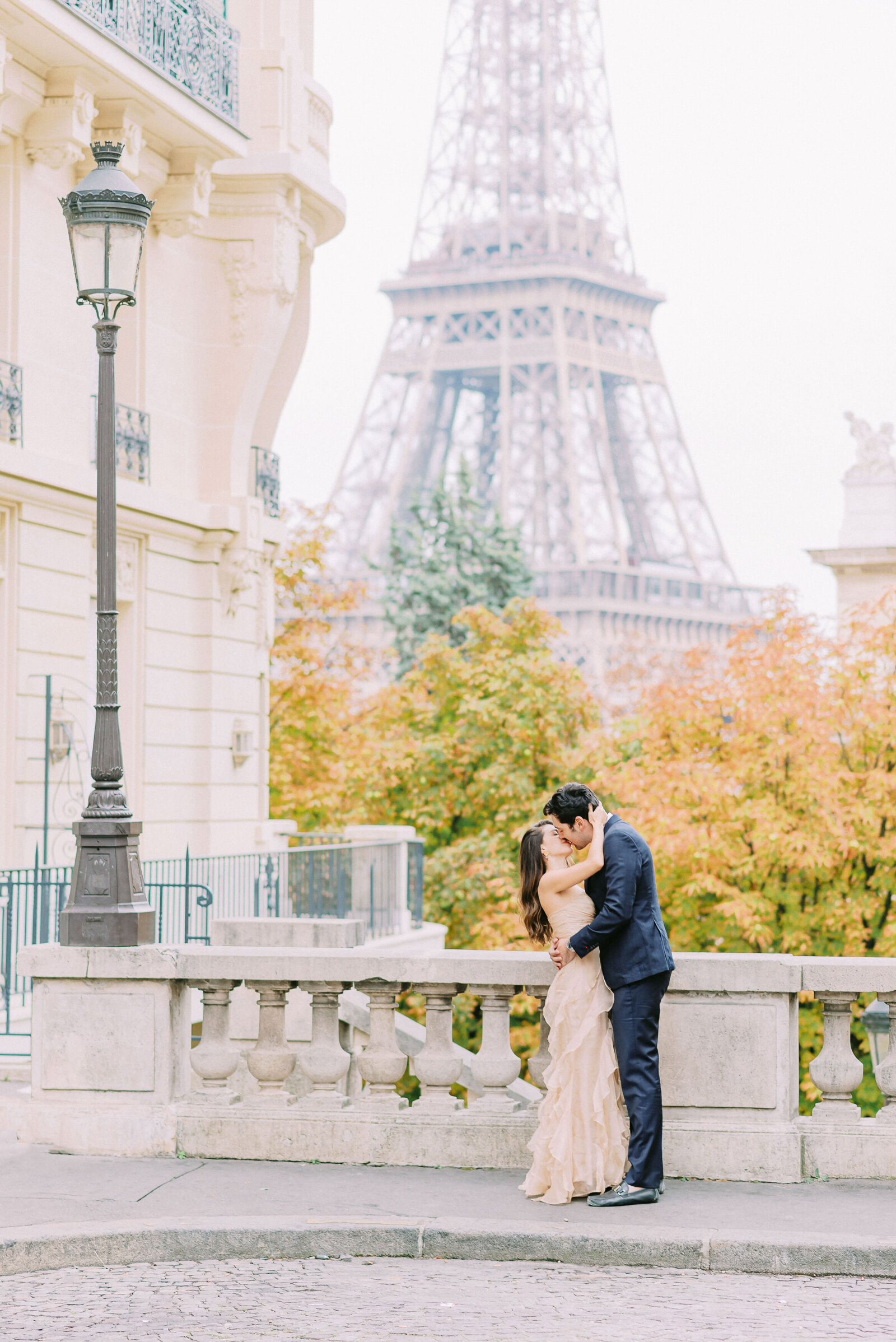 engagement in Paris