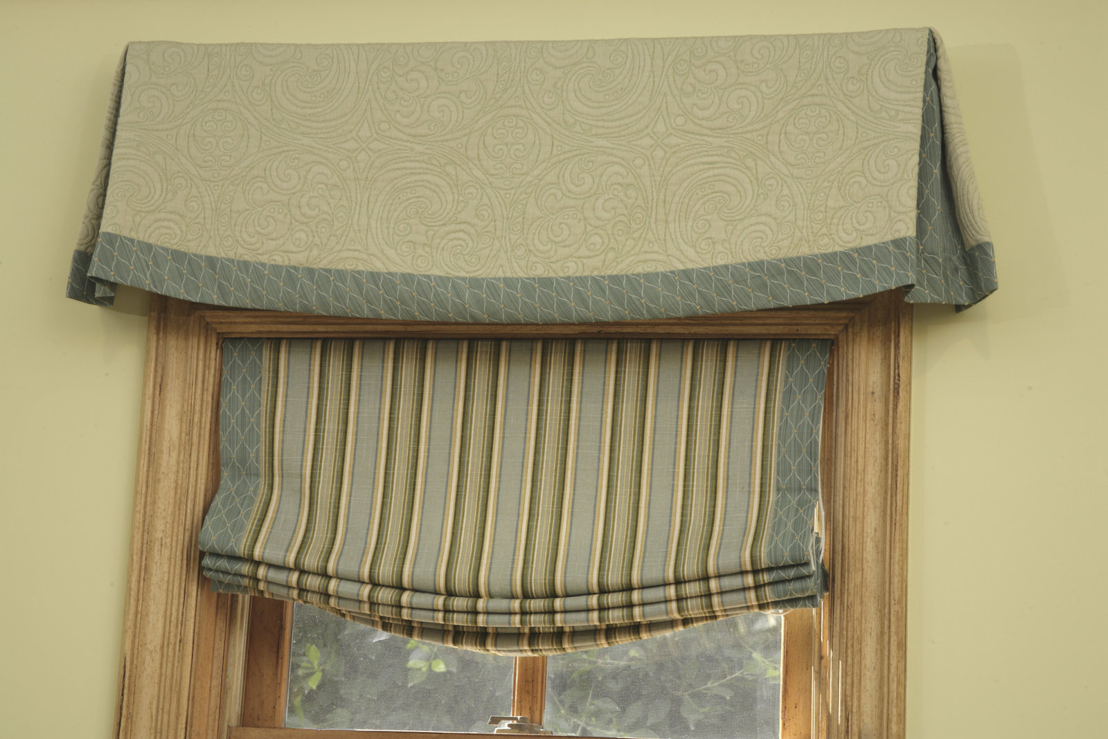 Encino Estate Estate Den Window Treatments