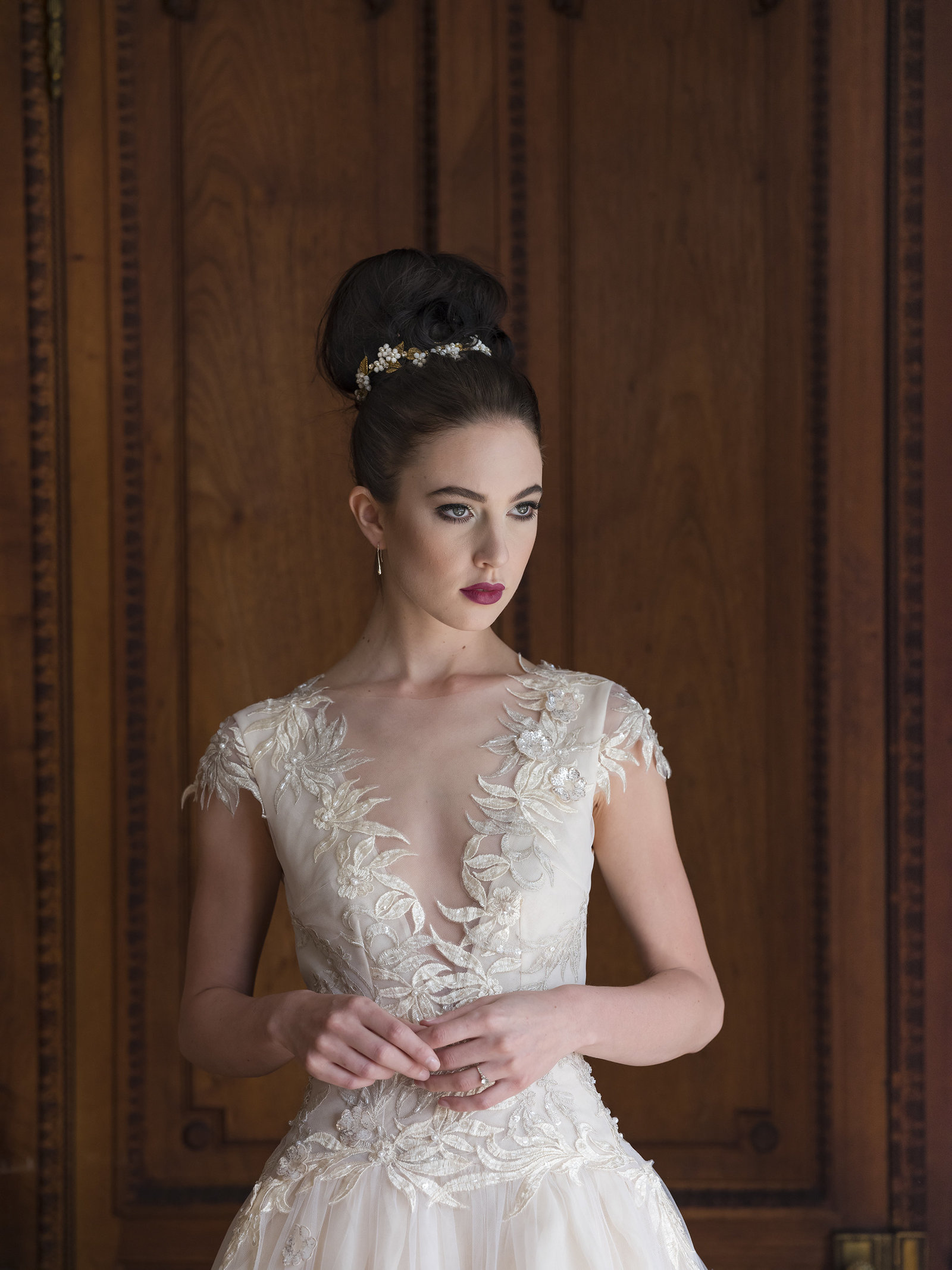 Eos_blush_silver_embroidered_silk_wedding_dress_JoanneFlemingDesign_DavidStanburyPhoto (6)