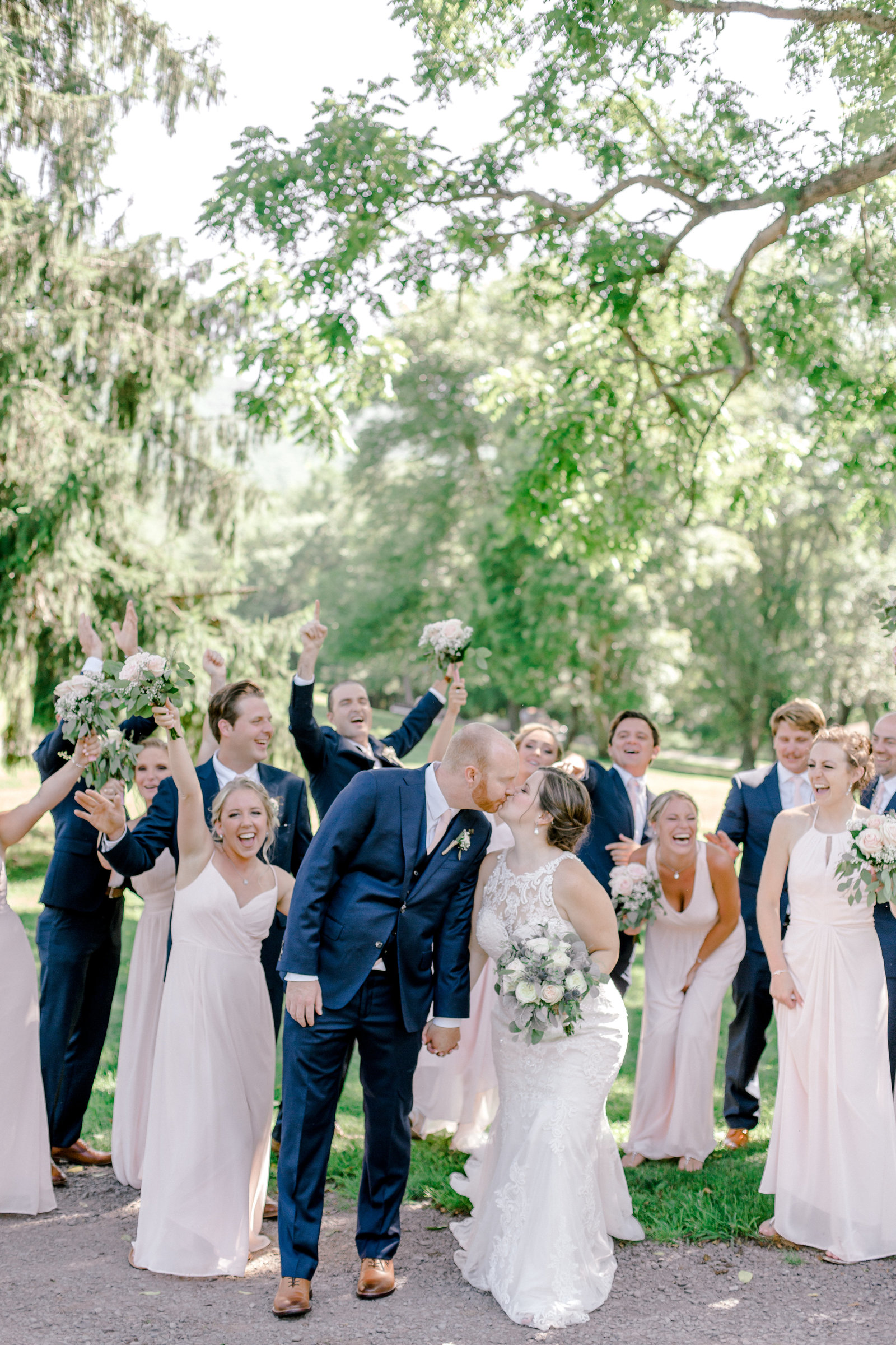 Navy and Blush pink inspired summertime whitewoods wedding in Northeastern Pennsylvania NEPA wapwallopen wedding venue by  PA based wedding and lifestyle photographer Lytle photography (668 of 1590)