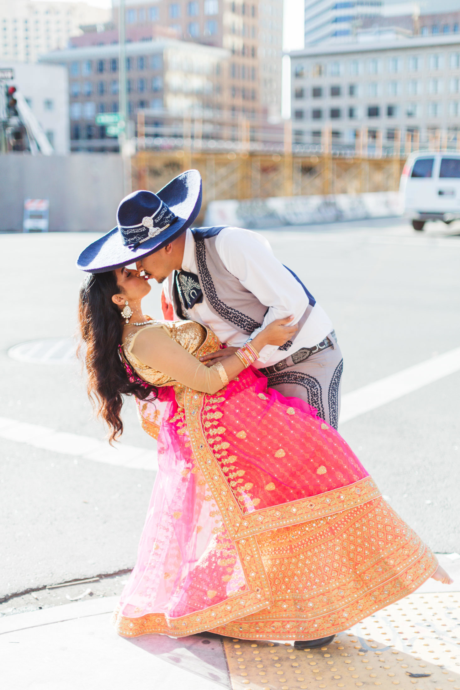 indian mexican shoot in downtown oakland