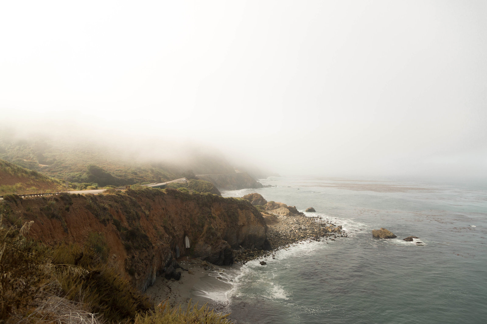 Atlanta Wedding Photographer Christina Bingham takes photo of West coast in Big Sur