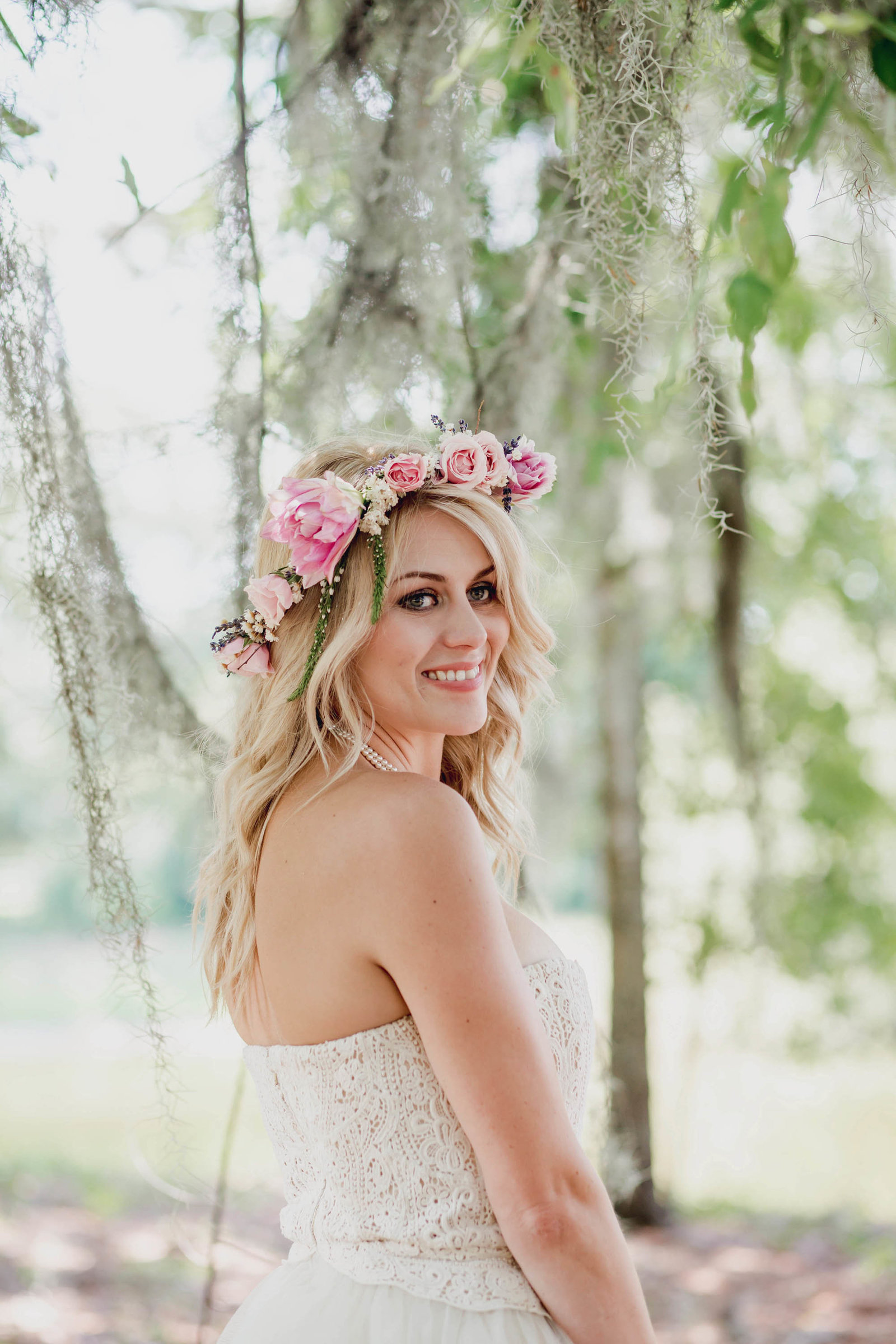 flower-wreath-hair-crown-spring-lookbook-pepper-plantation-black-white-blush-makeup-kate-timbers-photography112