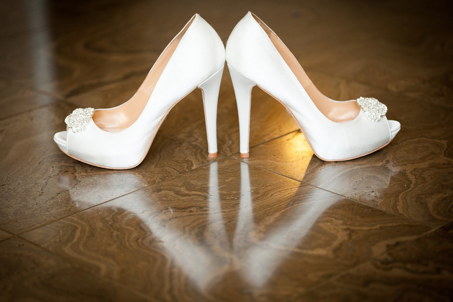 white shoes for bride