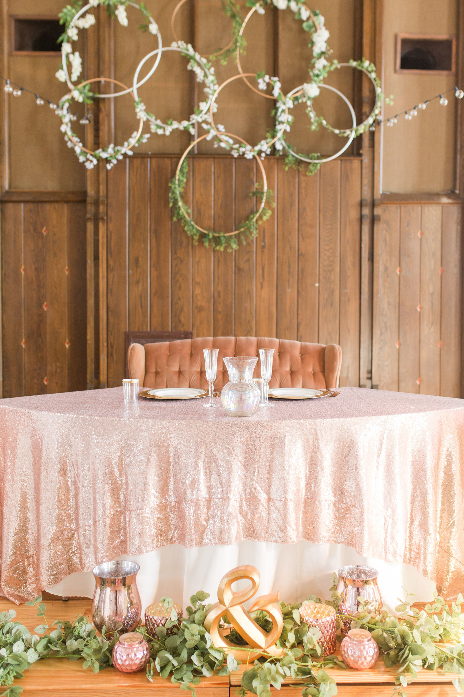 Reception Details at Old Brick | Megan Snitker Photography | Iowa City Wedding photographer