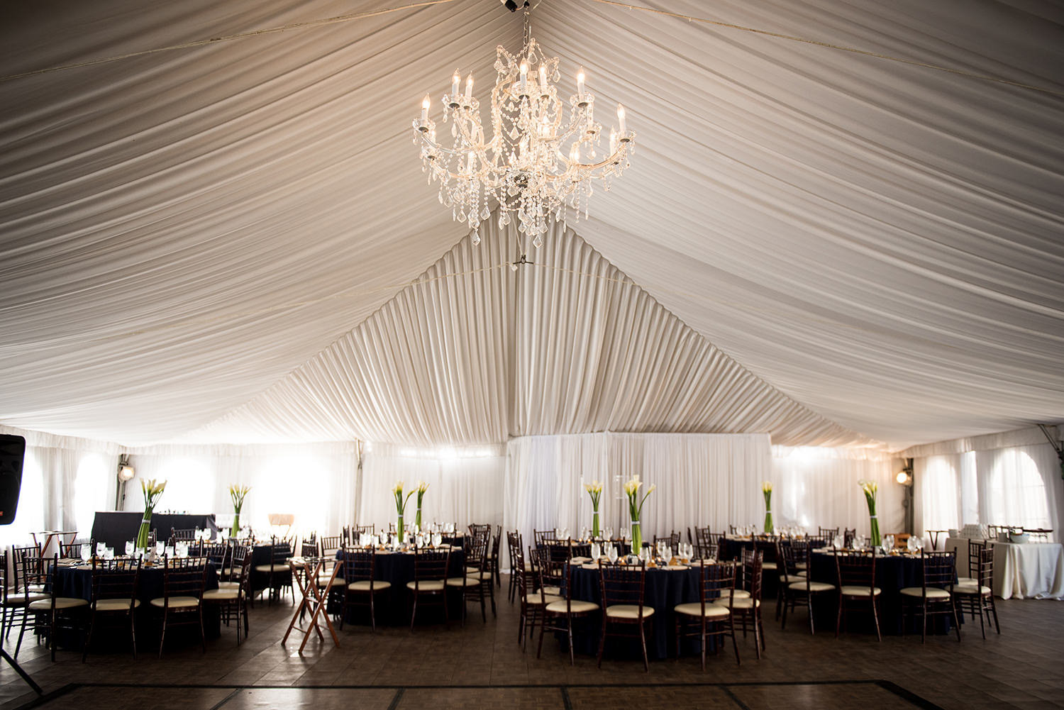 amazing tent at santa luz club
