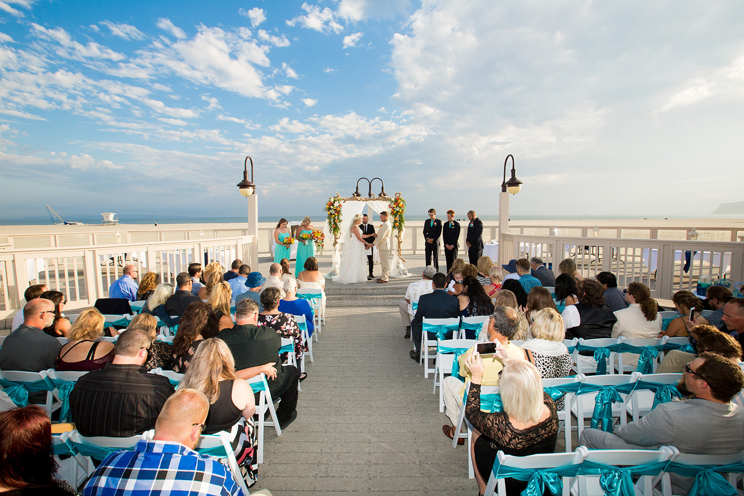 ceremony space at breakers beach