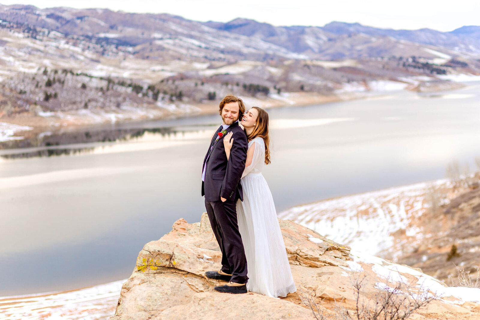 Surprise Fall proposal in Westminster Colorado at Standley Lake