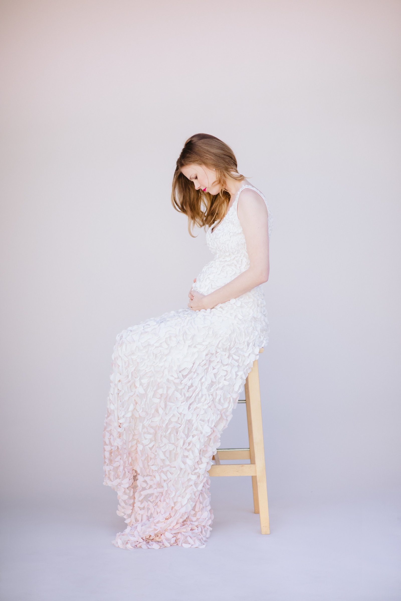 Studio Maternity on Film with Kent Avenue Photography featured on The Fount Collective