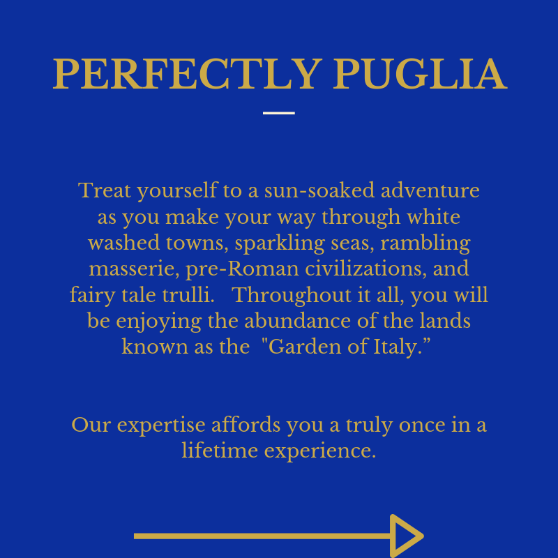 Perfectly Puglia P1 Intro