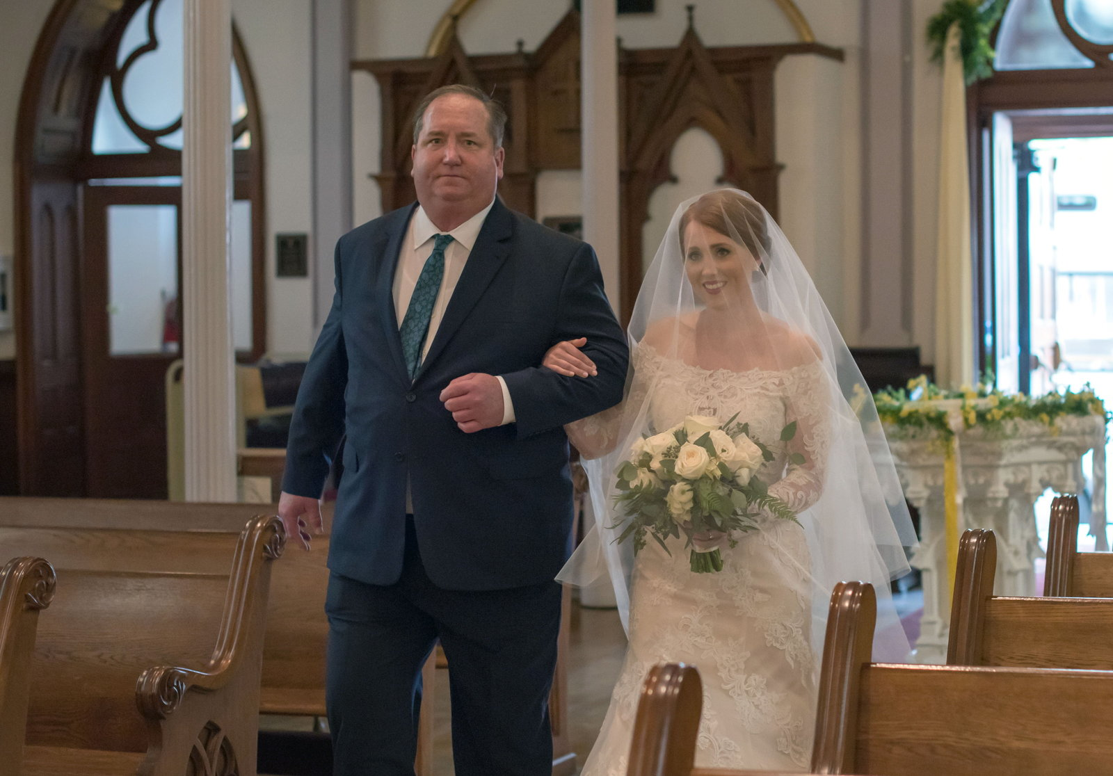 Sacred Hearts Catholic Church Wedding Savannah, Bobbi Brinkman Photography