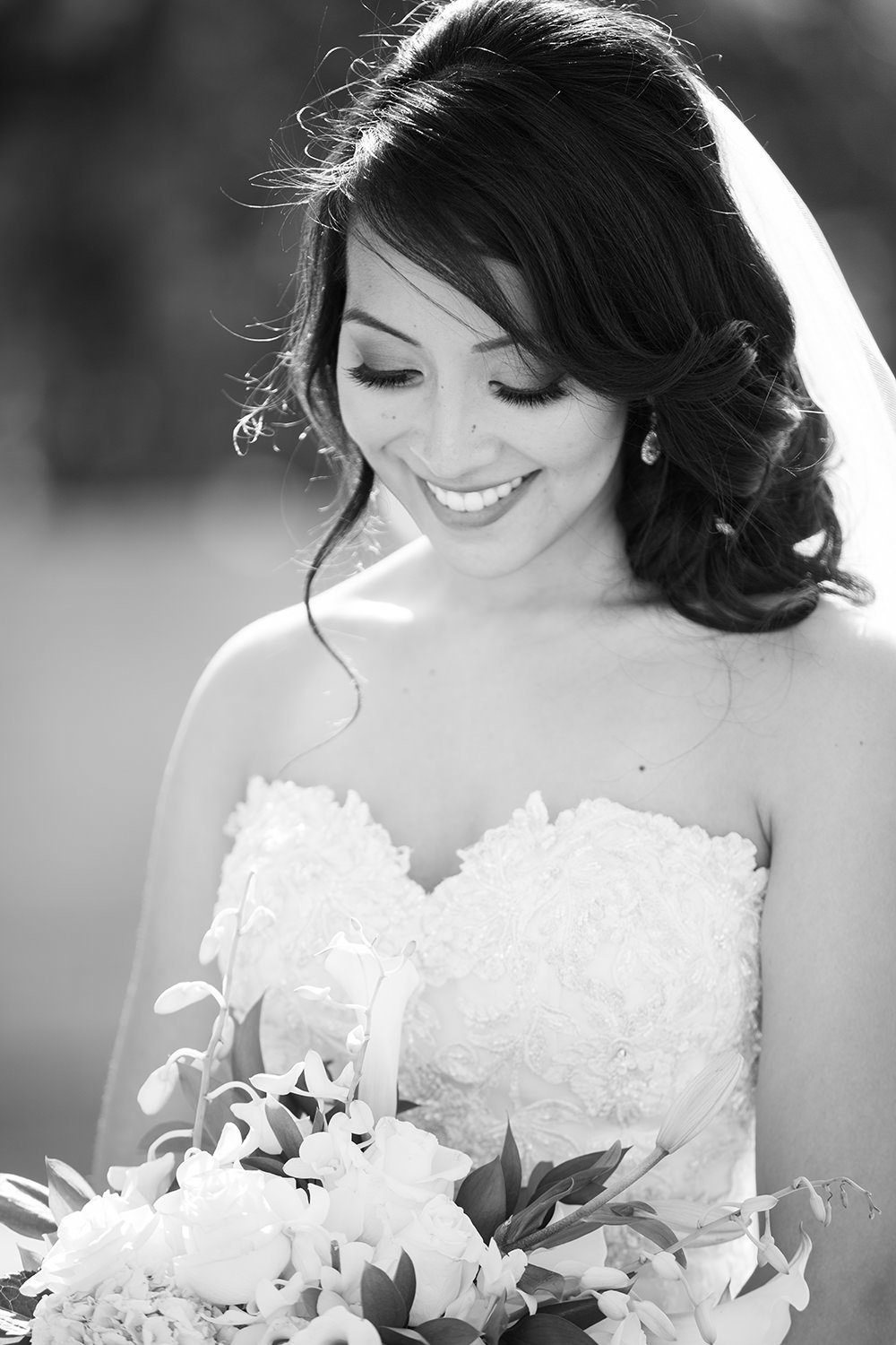bride at the stunning wedgewood
