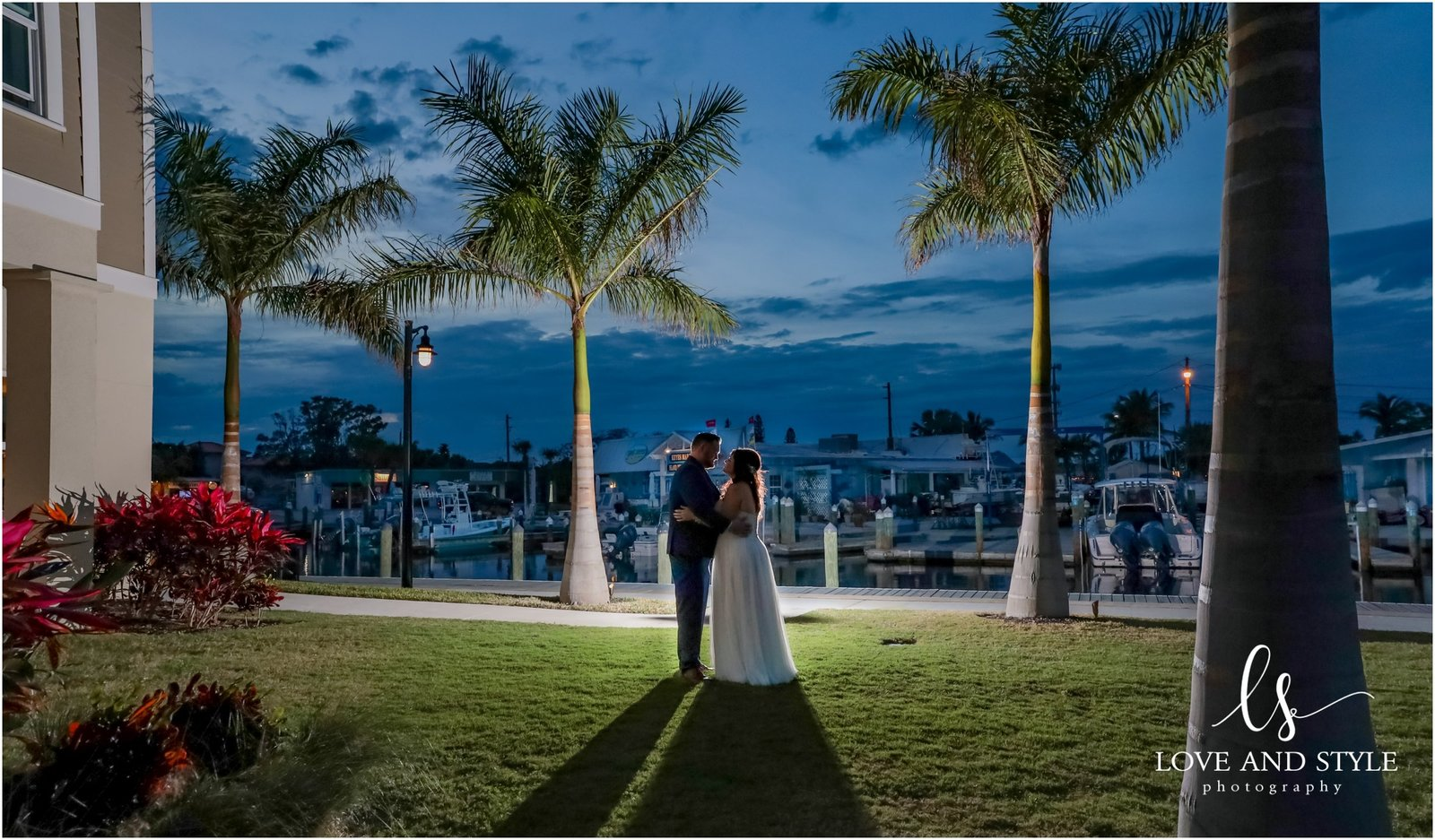Wedding Photography at The Waterline Marina on Anna Maria Island