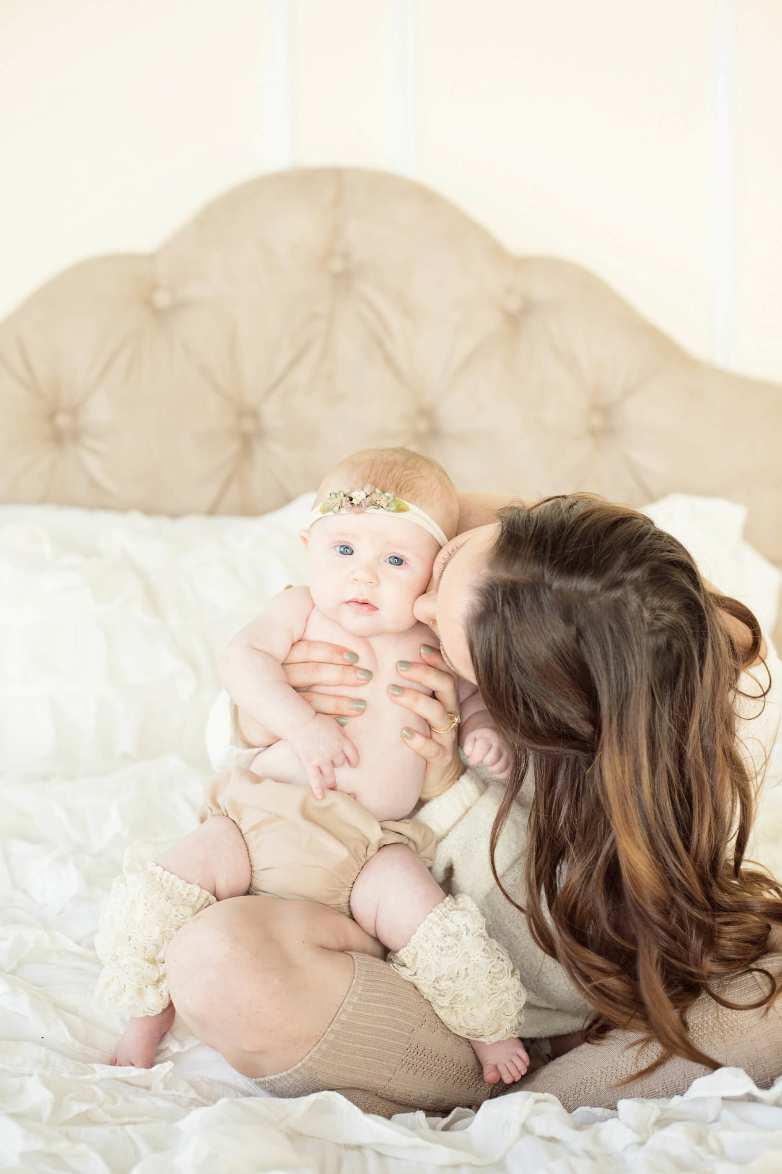 Indoor Mommy and Me Photography