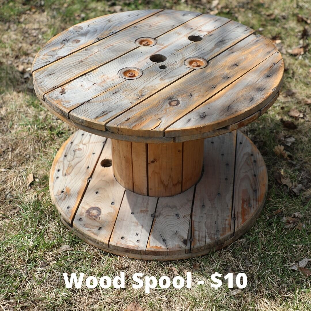 wood spool