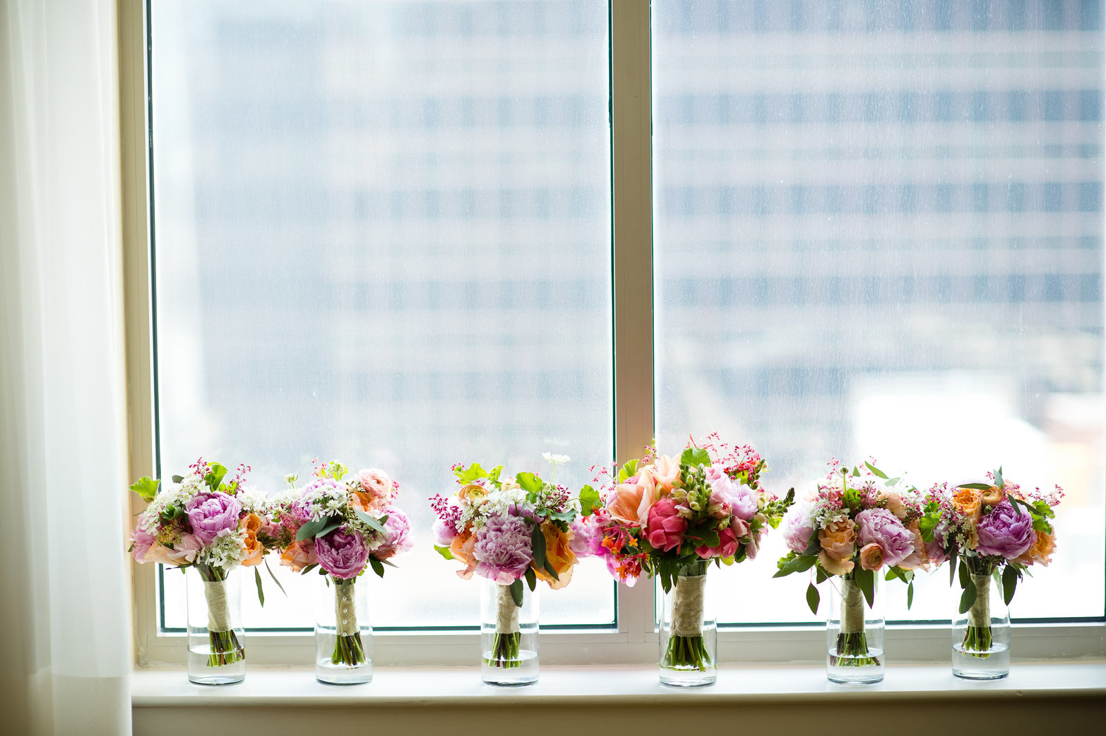 Bridal bouquet by A Garden Party Florist photo by Amanda Young Photography