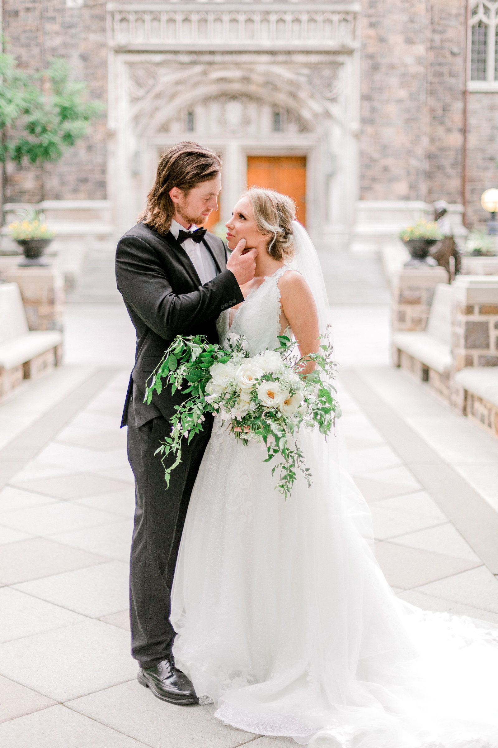 European Dream Inspired Timeless Wedding Editorial Shoot At Lehigh University Campus In Bethlehem Pennsylvania by Lehigh valley based wedding and lifestyle photographer  (146 of 224)