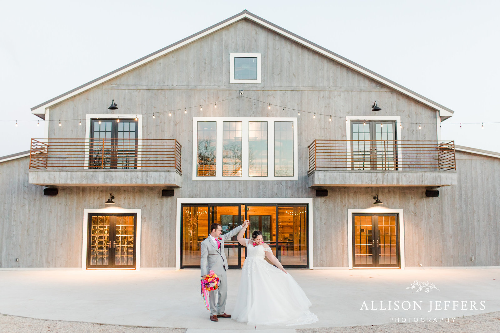 wedding day at The Barn at Swallows Eve in Fredericksburg, TX