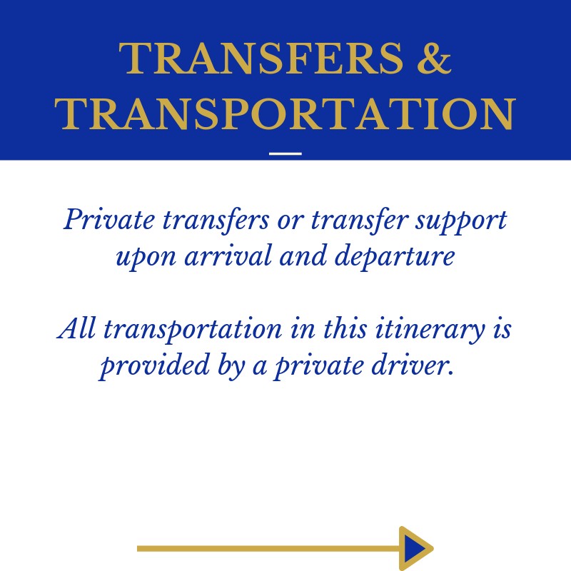 Coasts and Crowns P5 Transfer Transportation