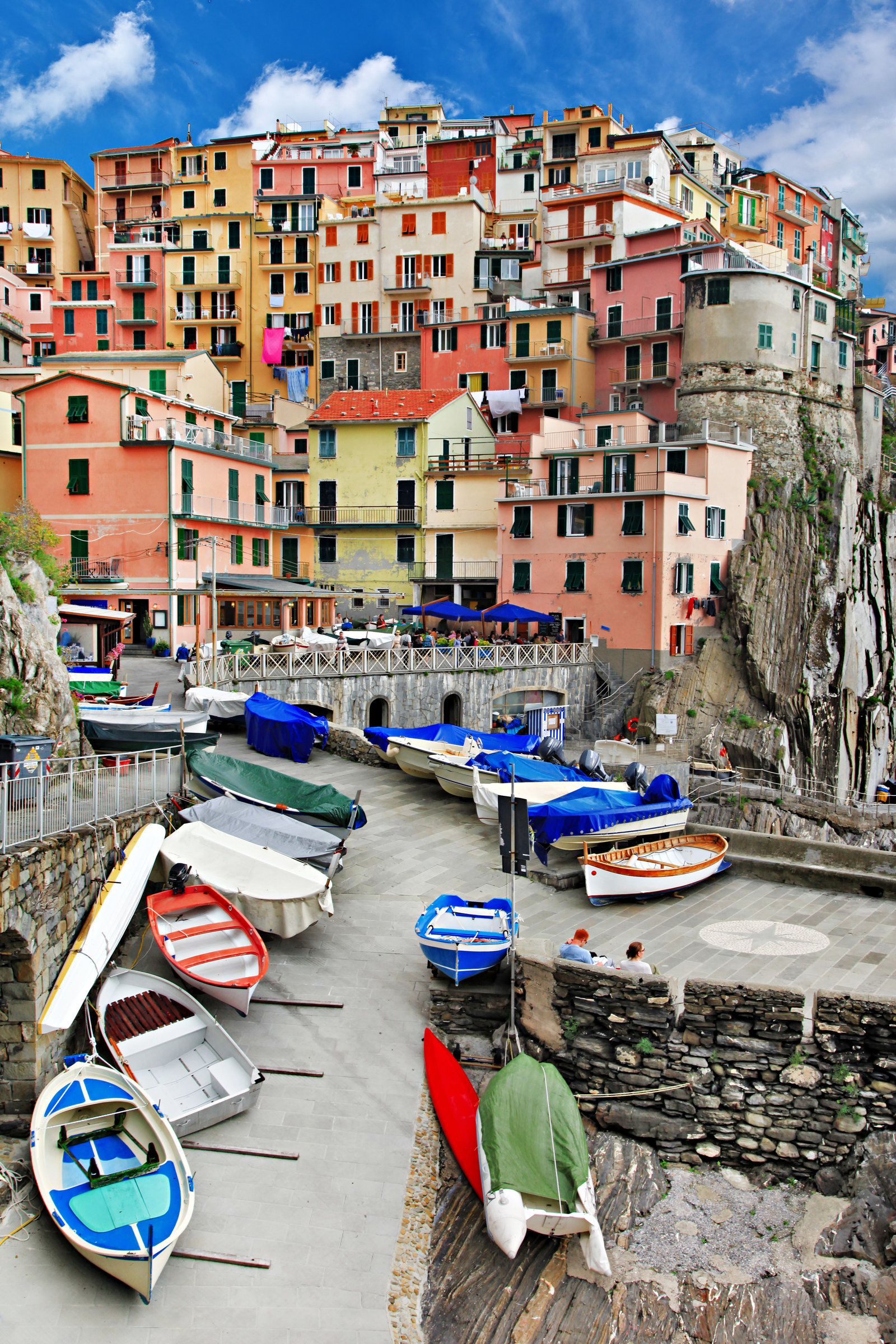 Monarola - colorful fishing village, Cinque terre