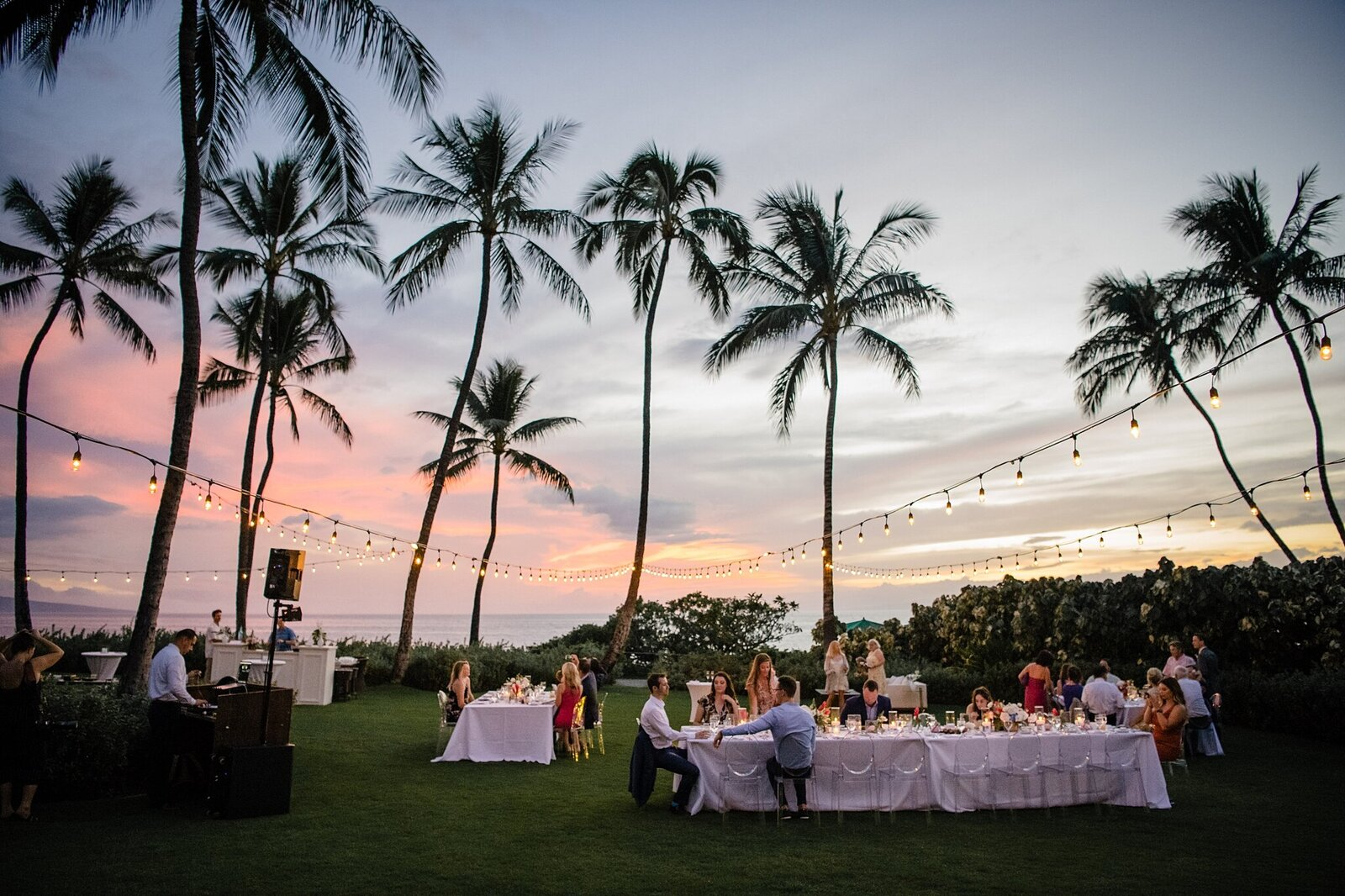 andaz maui wedding reception