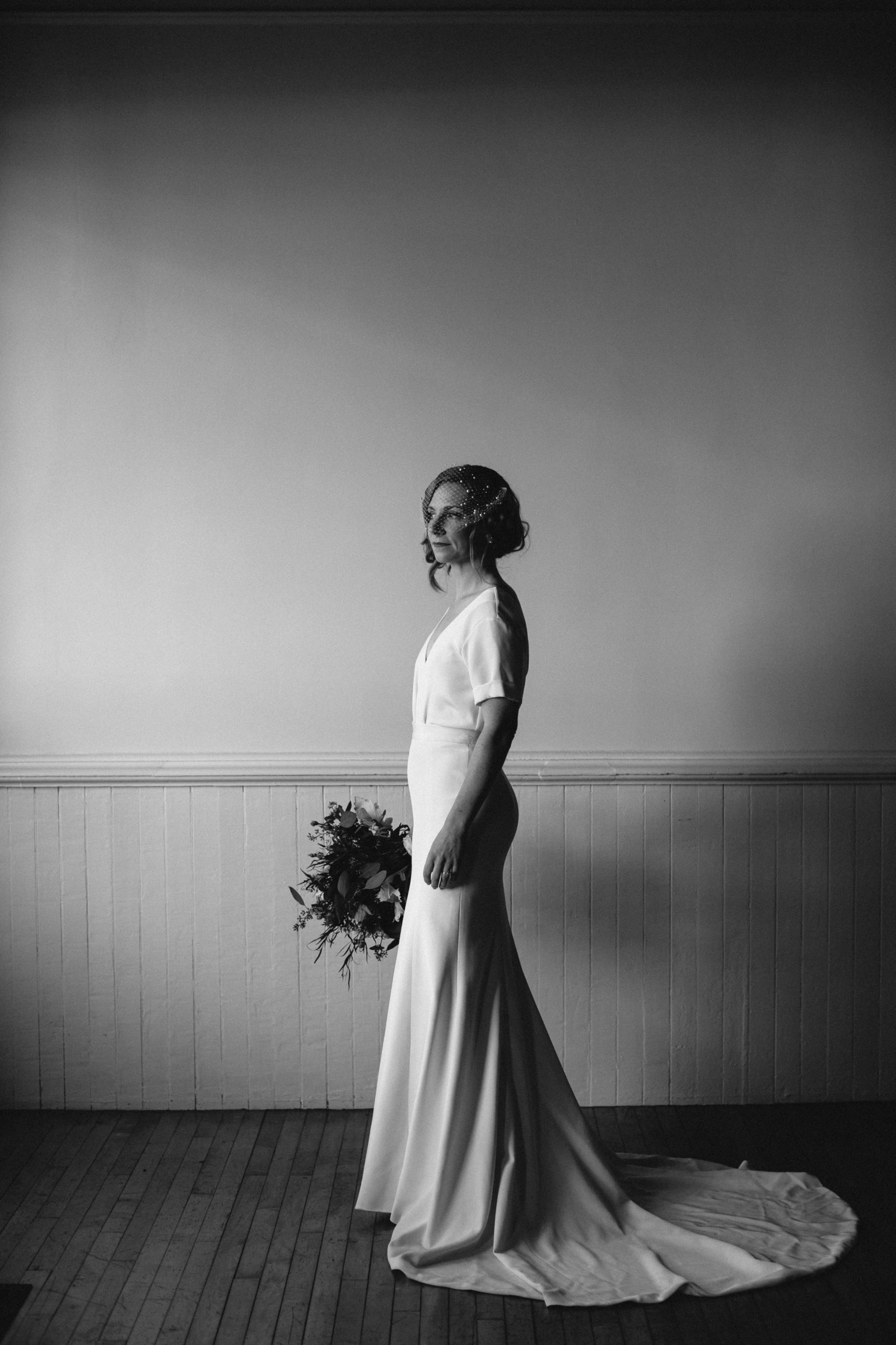 black-and-white-bridal-portrait-classic