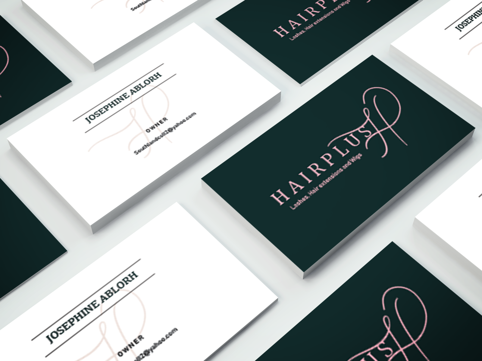 HairPlus Business Card