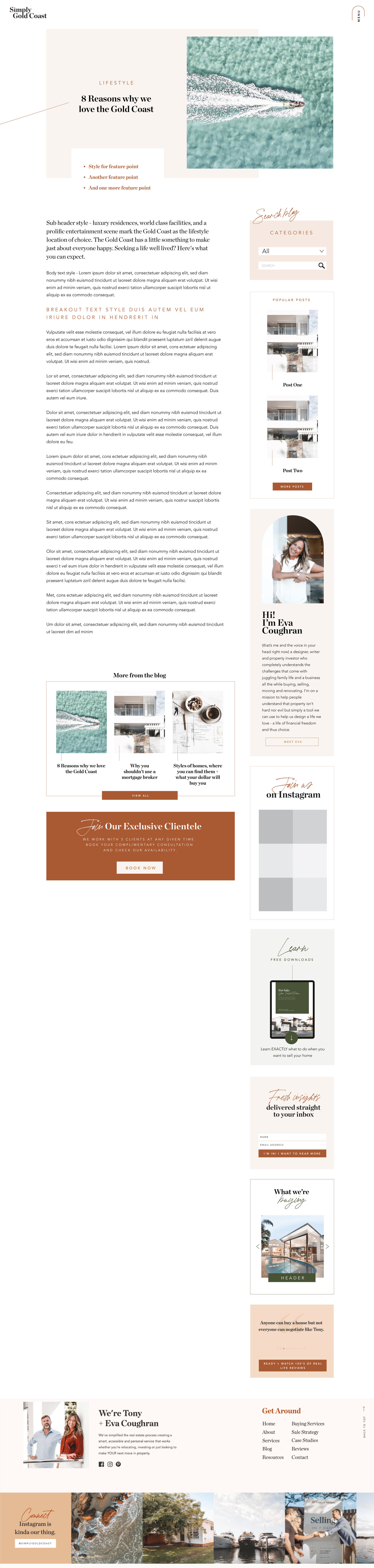 Blog Page-Template