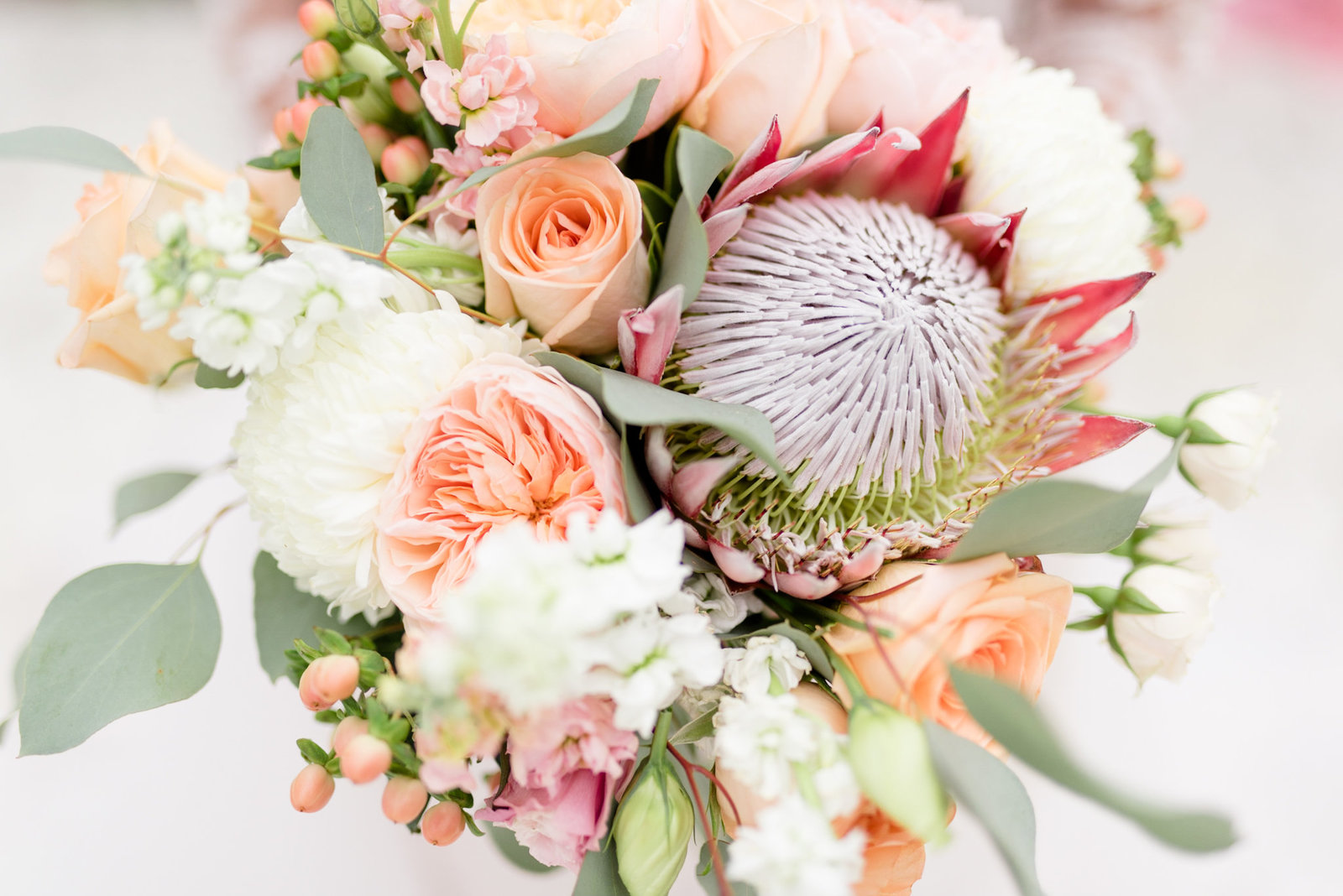 Exotic bridal bouquet in Tampa