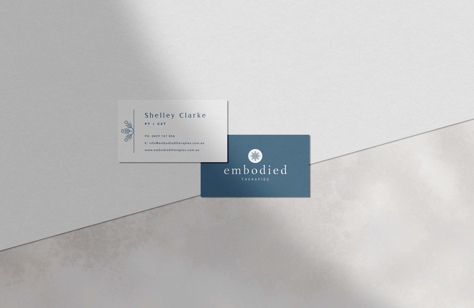 business card embodied