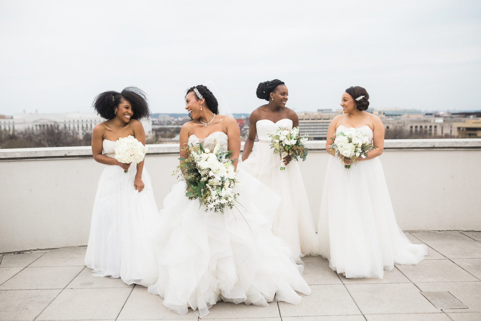Four Brides and DC skyline
