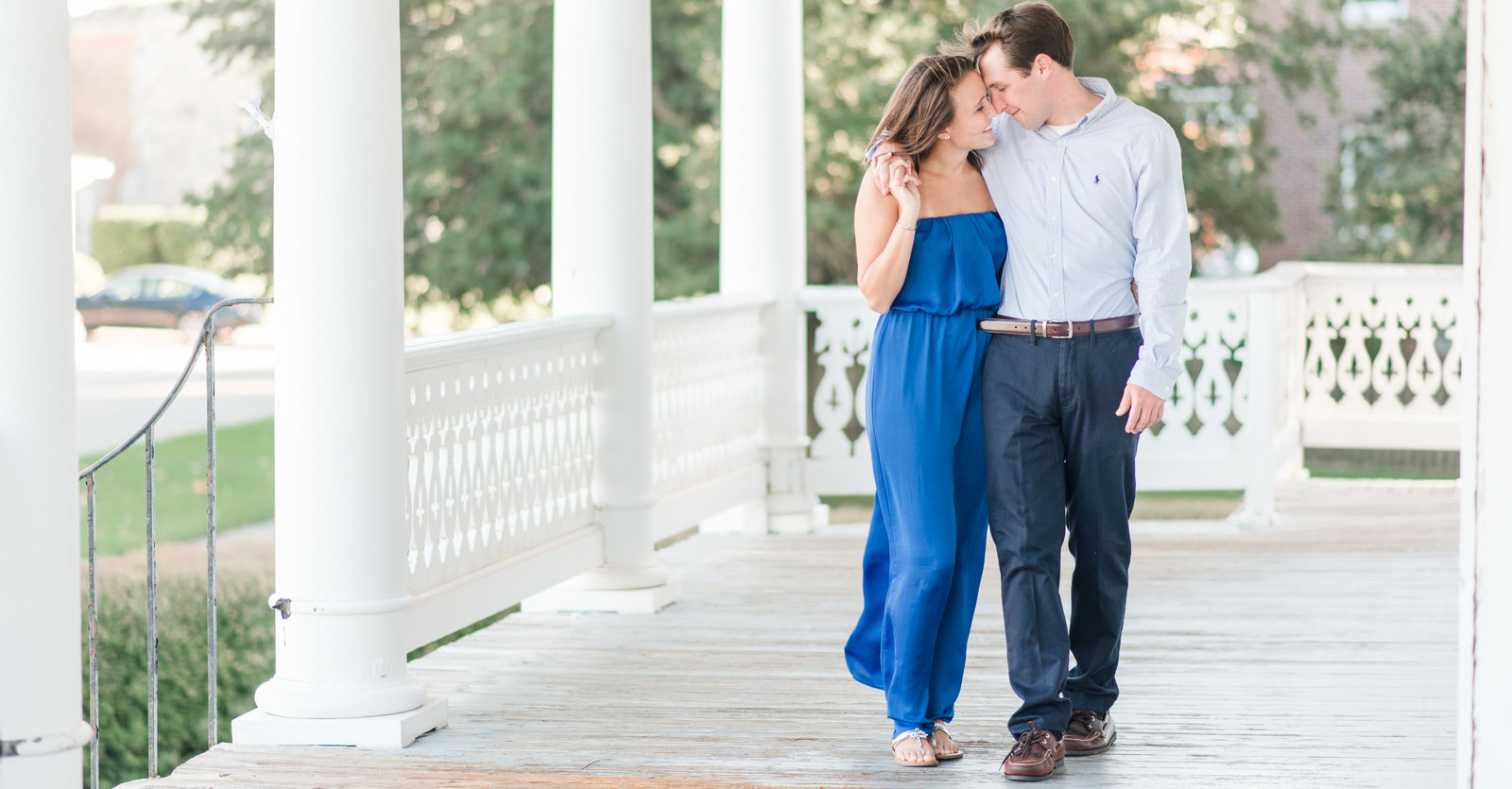 southern engagement session at fort monroe in hampton virginia