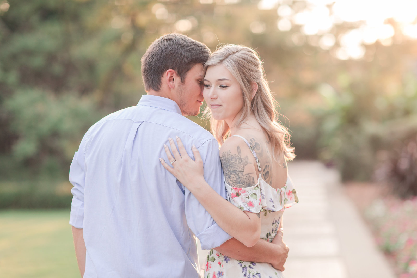 Jennifer B Photography-Sandhills Horticultural Gardens Engagement-Pinehurst NC-Cody and Kayla-2019-0223