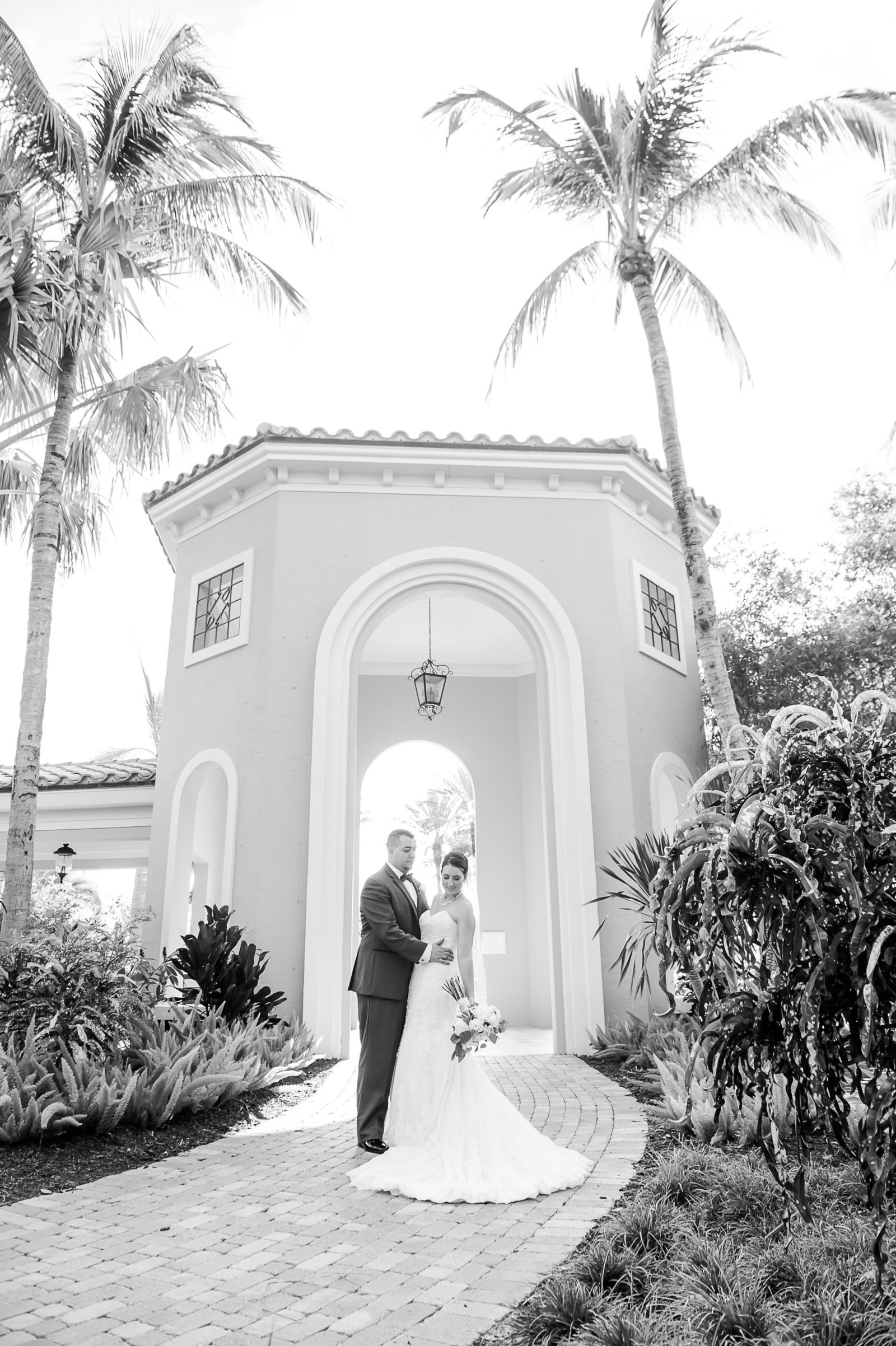 Wedding Architecture - Country Club at Mirasol Wedding - Palm Beach Wedding Photography by Palm Beach Photography, Inc.