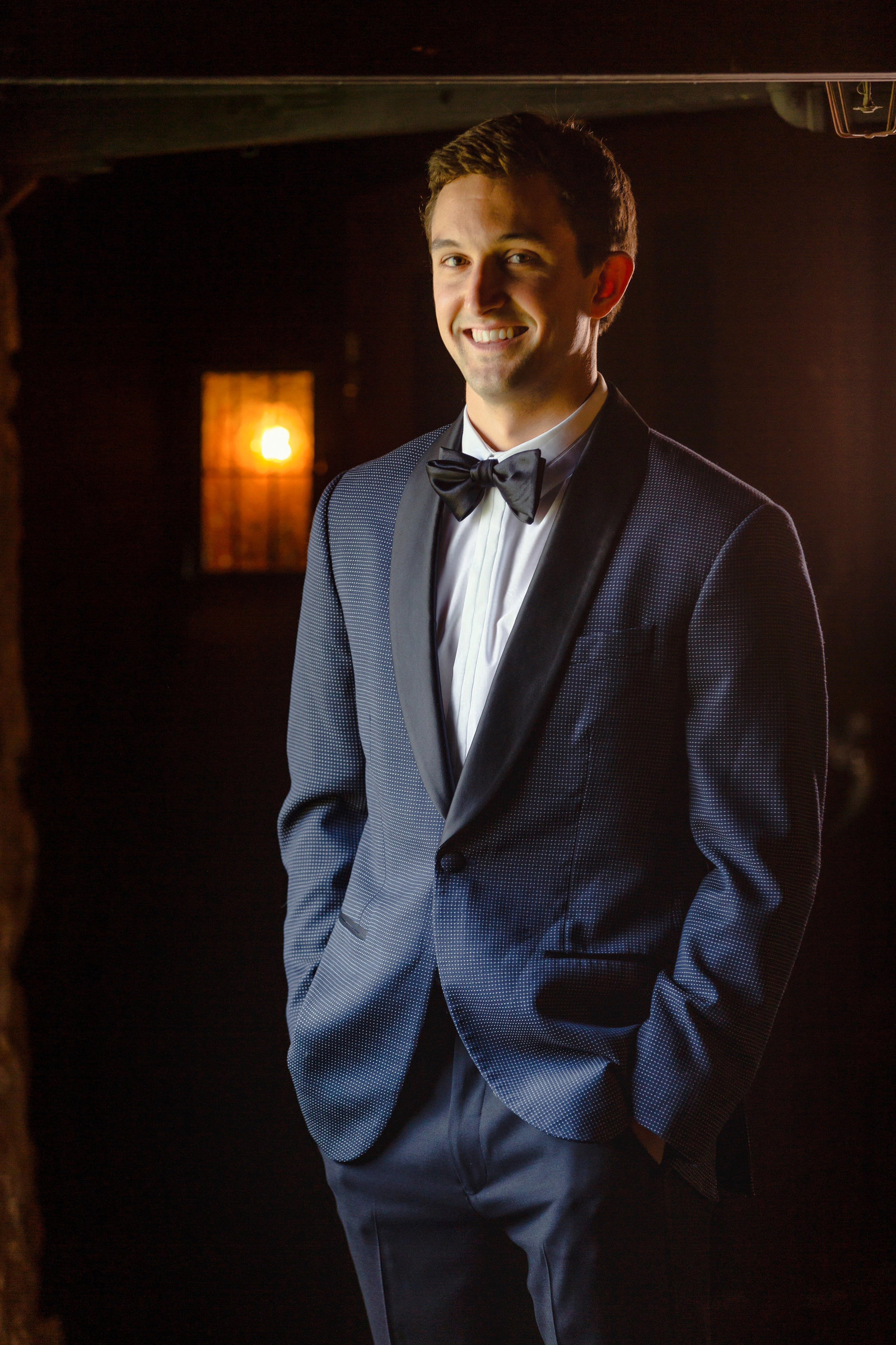 groom portraits in newhall mansion tavern