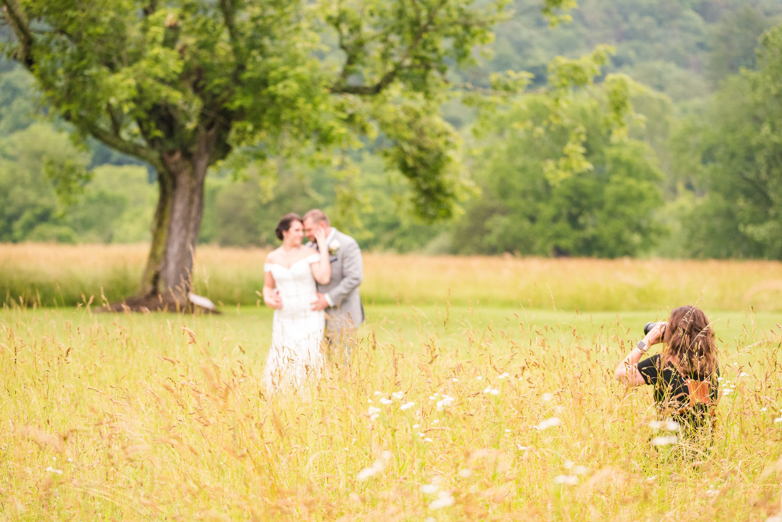 River Uplands Farm Milboro Virginia Rustic Outdoor Barn Wedding Marena Claire Photography_0071
