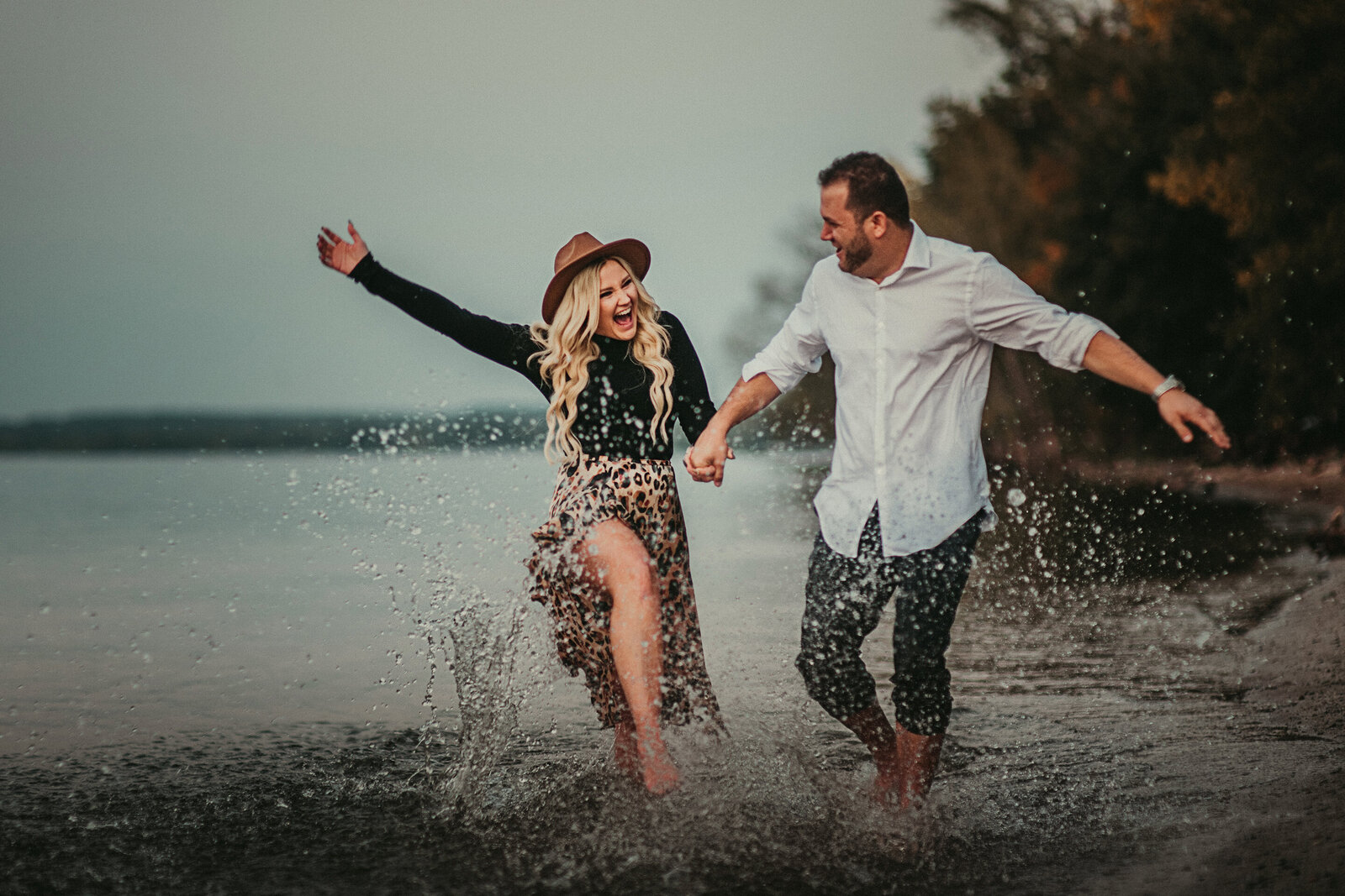 Bay Shore engagement session