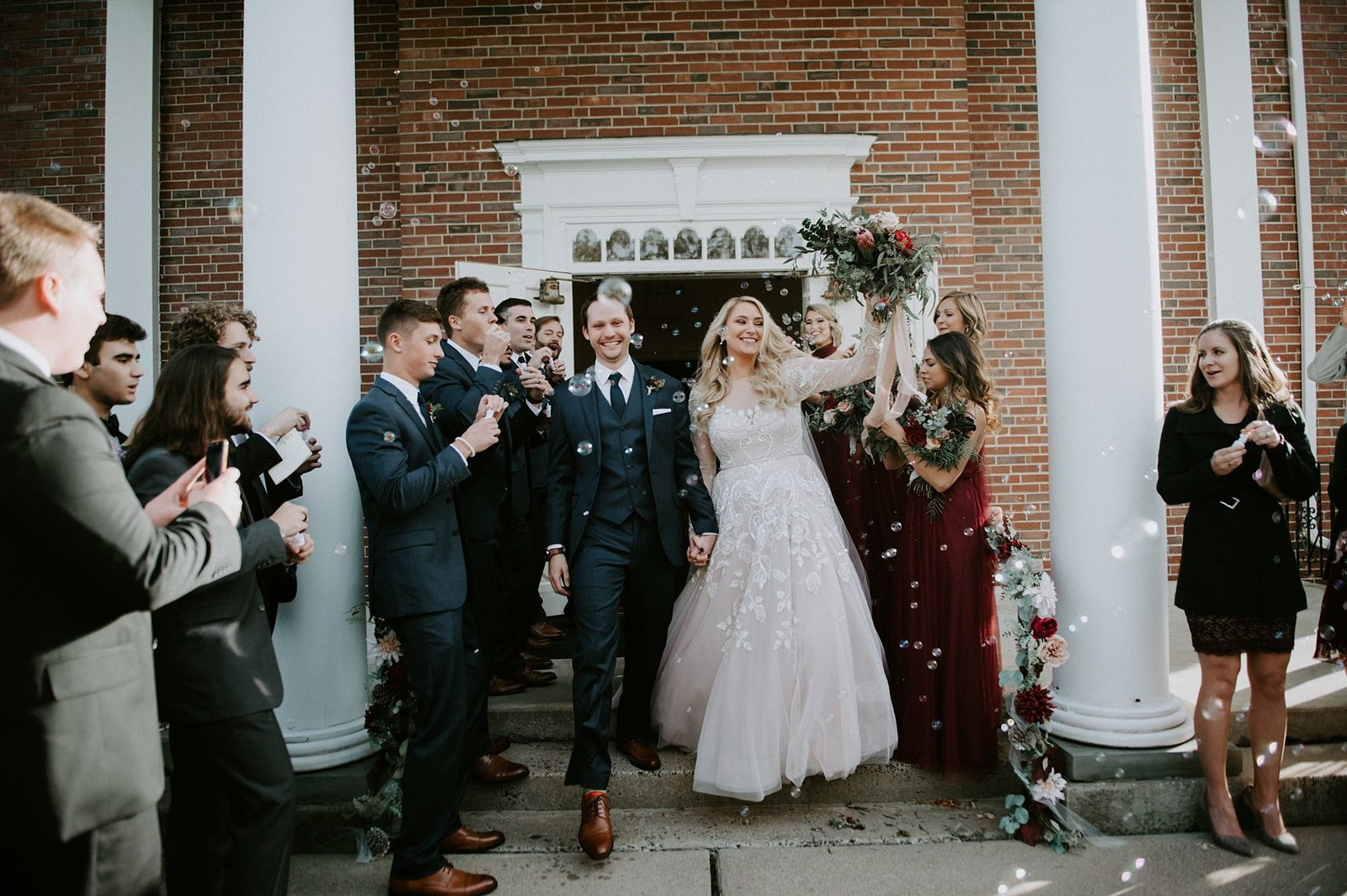 Rustic & Romantic fall wedding at The Webb Barn in Wethersfield, CT